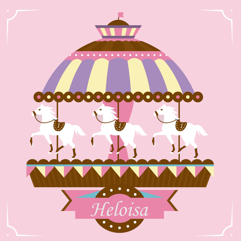 Painel carrossel encantado cupcake festas e for Couchtisch 1 00 x 1 00