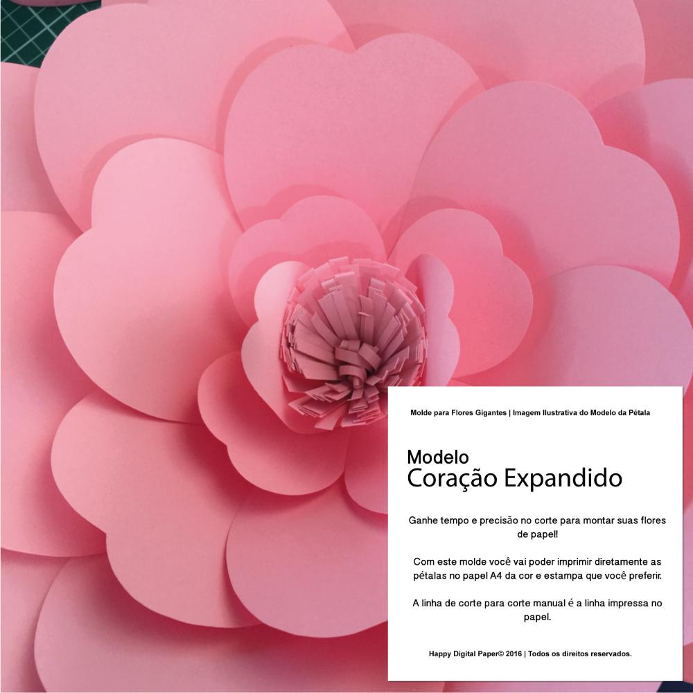 Resultado De Imagen Para Flores Gigantes Moldes Flores Slidehd Co