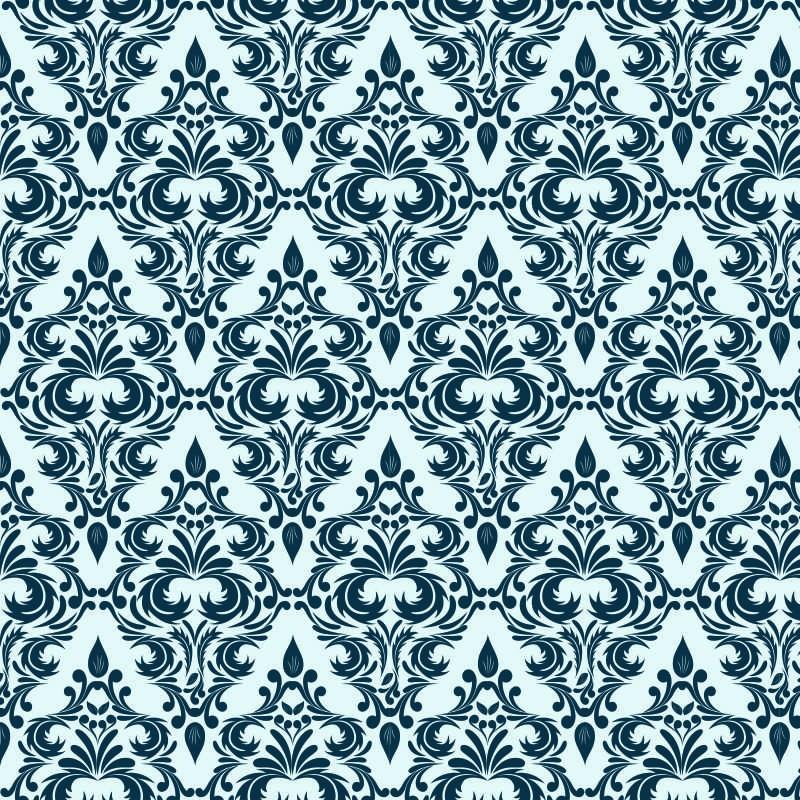 Quarto Com Papel De Parede Vintage ~ papel de parede vintage floral 10 papel de parede para quarto