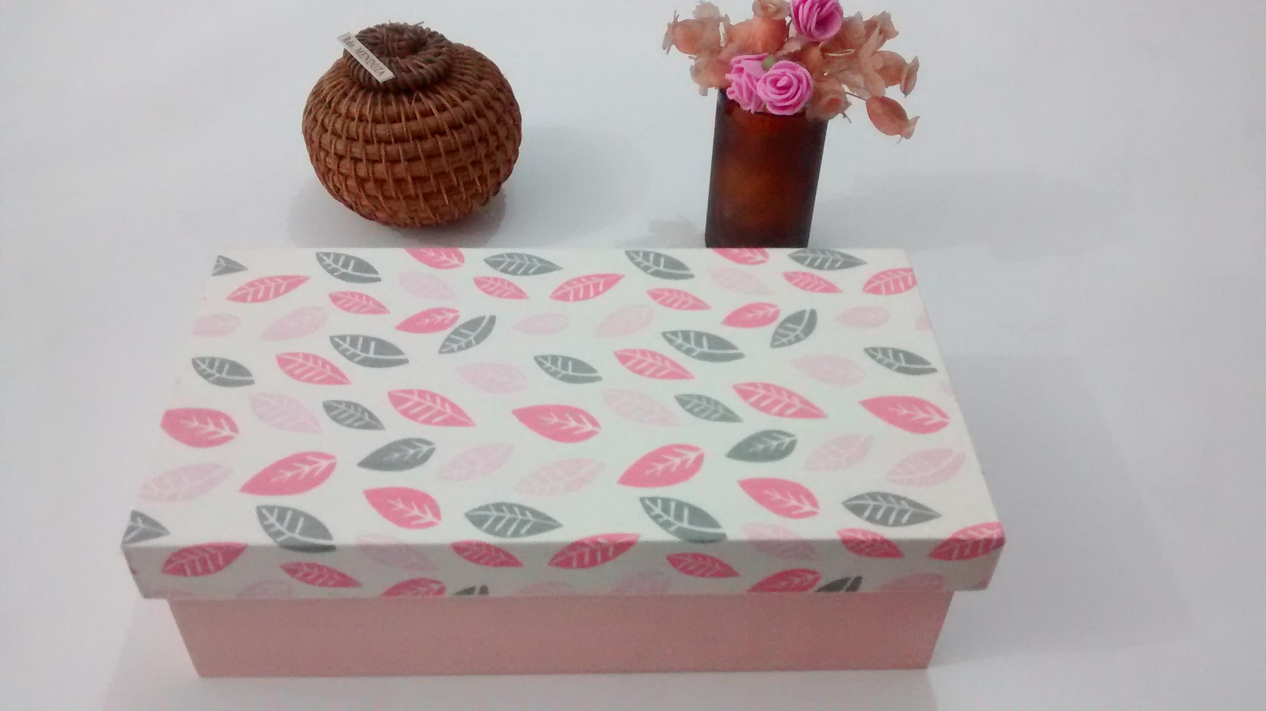 Enfeite De Outono ~ Caixa Outono Rosa Bebe Sweet Box Presentes Artesanais Elo7