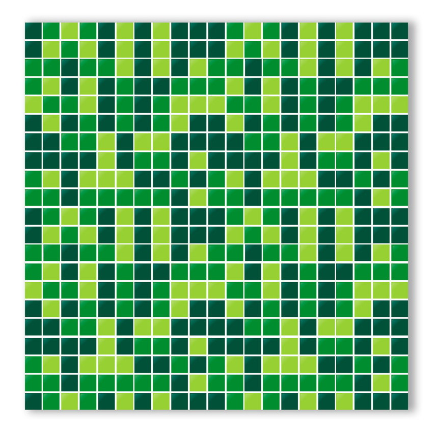 Artesanato Yotube ~ Adesivo de azulejo Pastilha Verde BC Yeh Stock Elo7