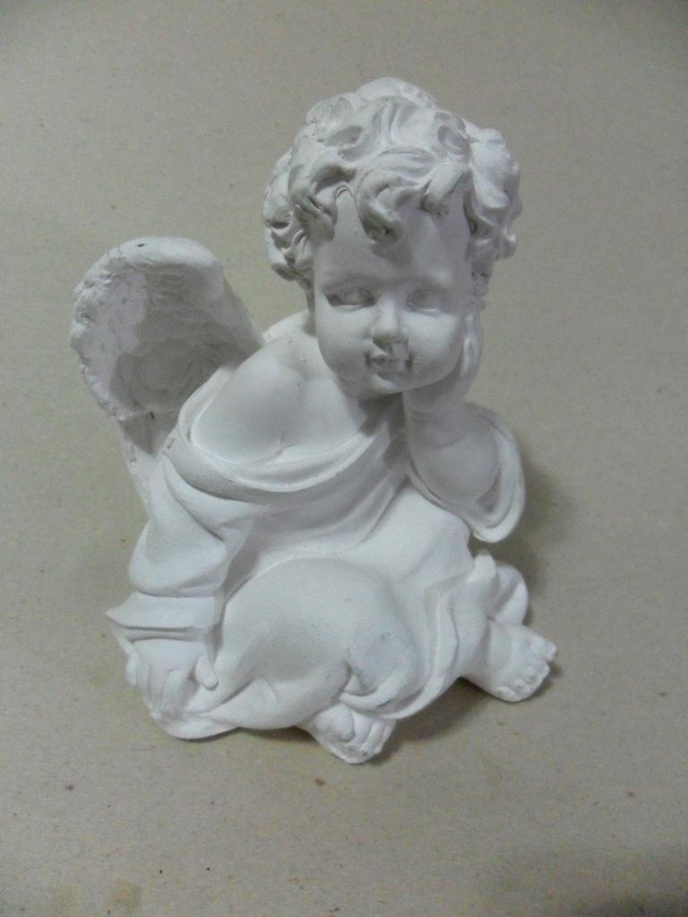 Enfeite De Gesso ~ anjinho de gesso para decorar mesa Querubins Elo7