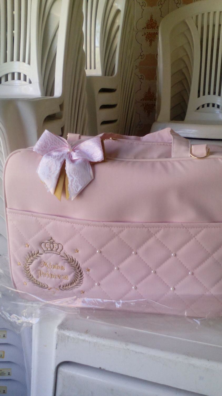 Bolsa De Perola Aliexpress : Kit bolsa bebe maternidade perola rosa coisinhasdebebepe