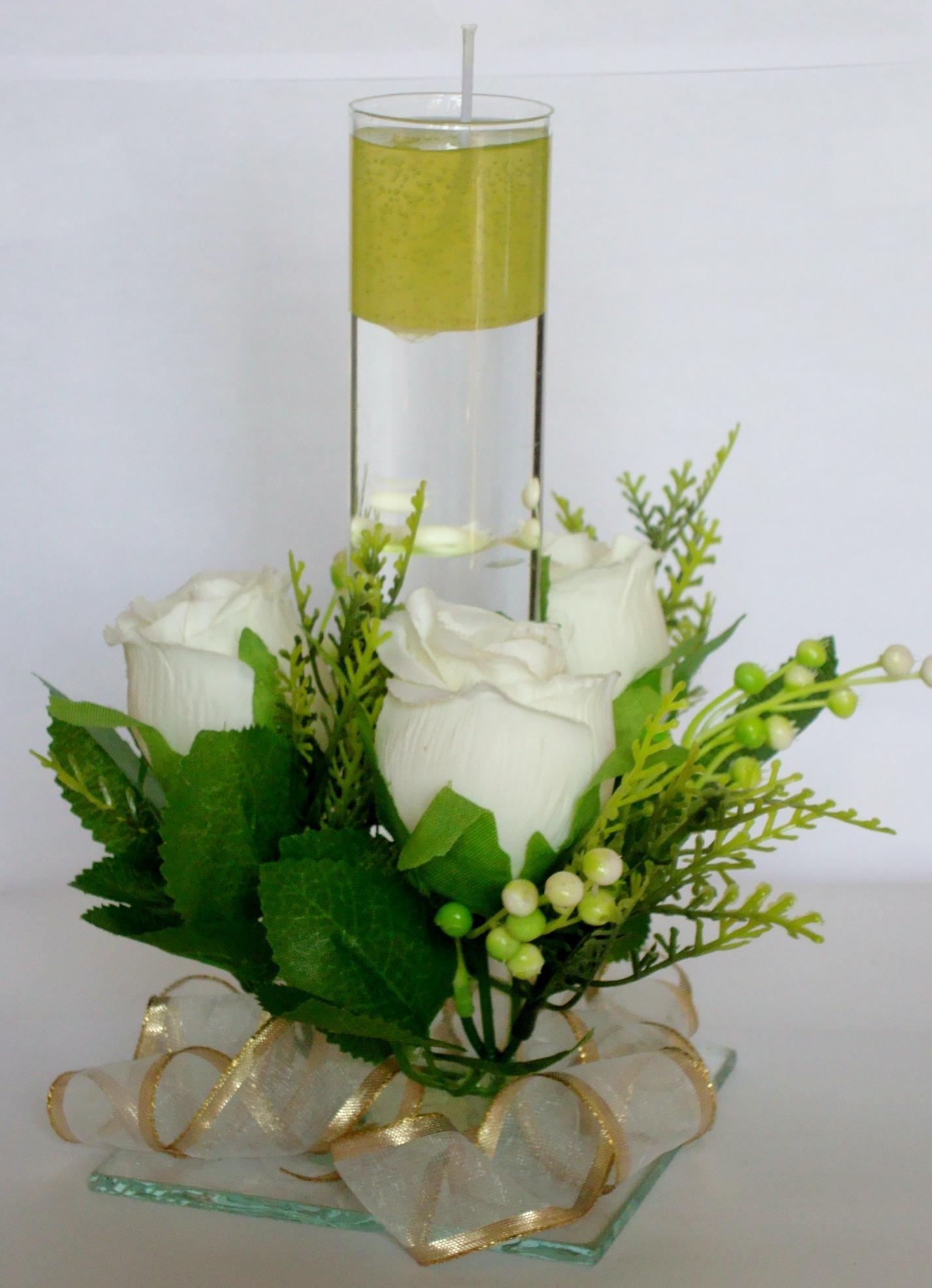 Centros de mesa para boda con velas flotantes 8 car - Centros con velas ...