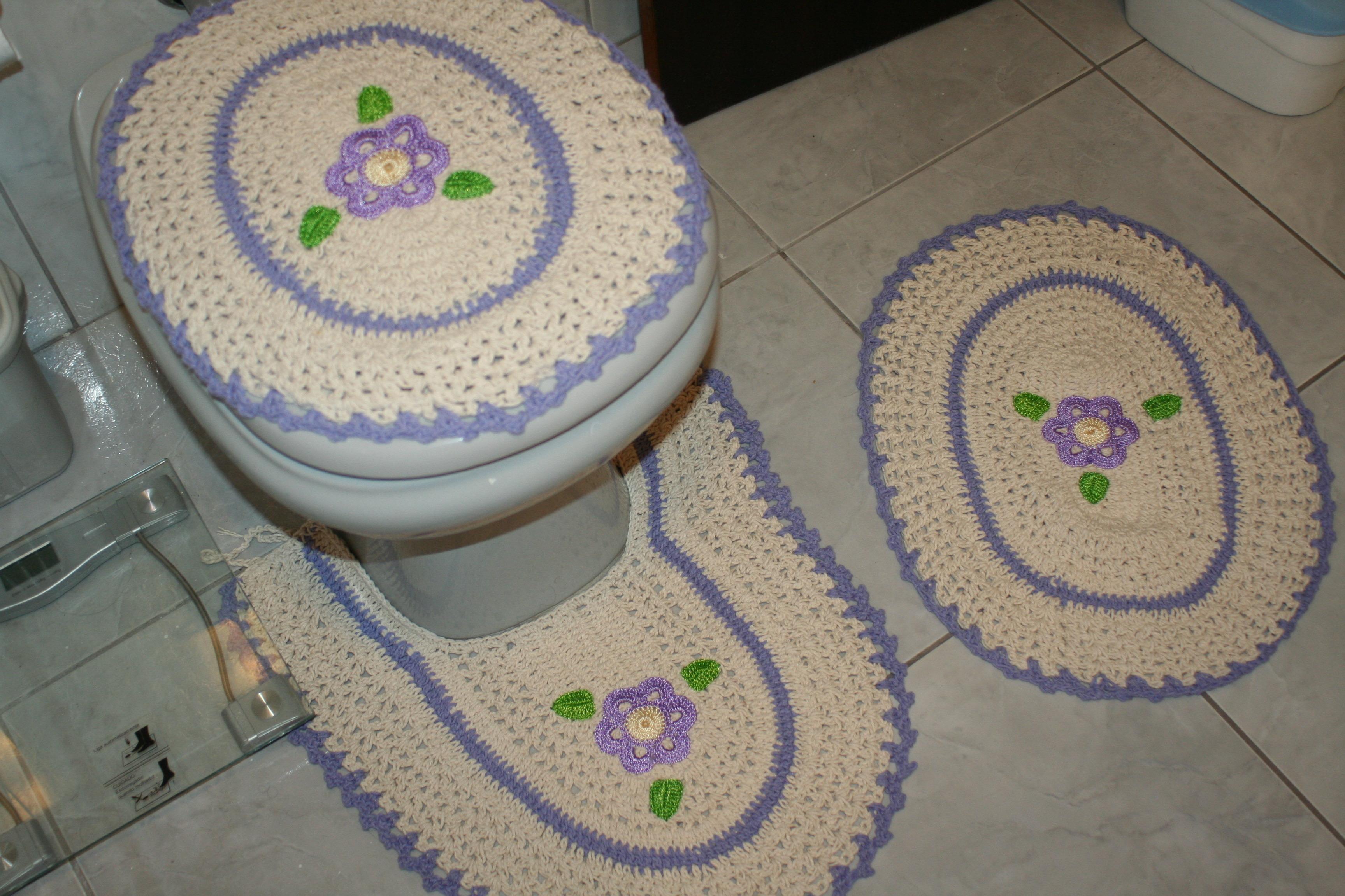 jogo de banheiro em croche jogo de banheiro em croche
