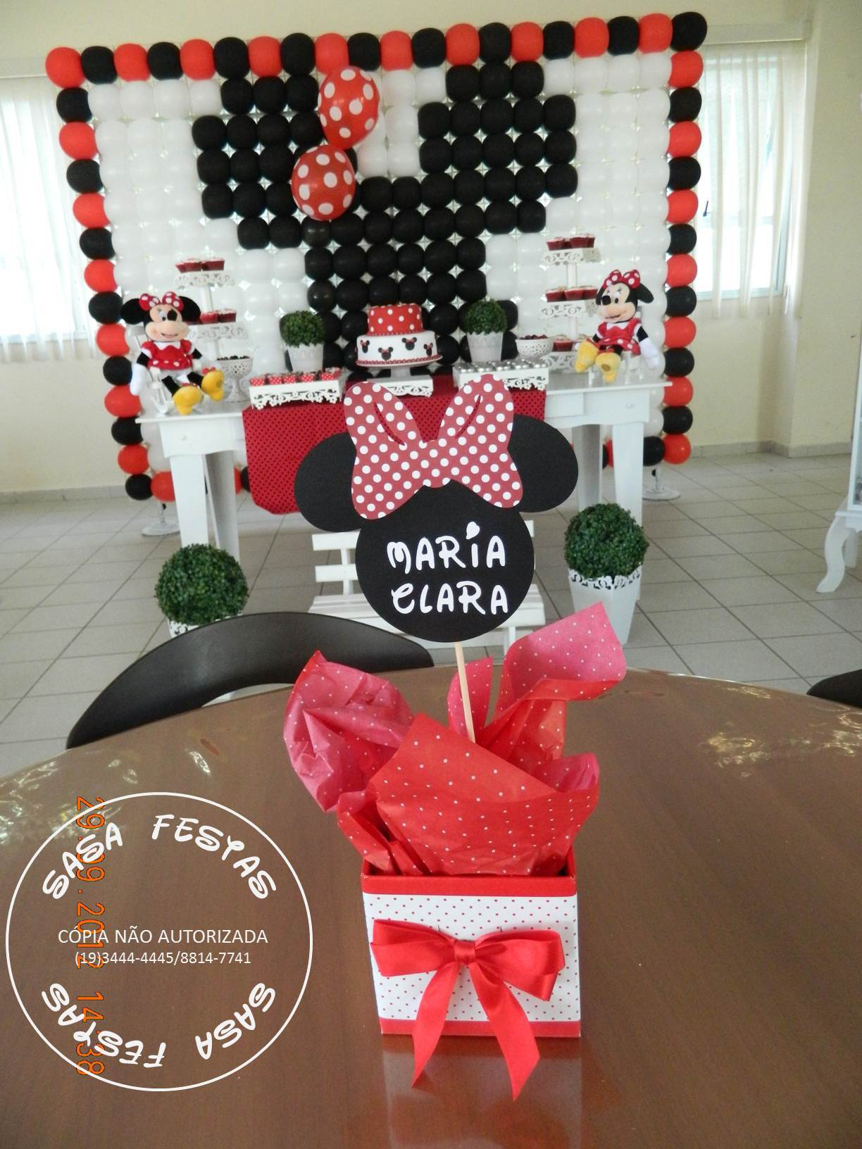 350 00 decoracao minnie vermelha decoracao minnie vermelha