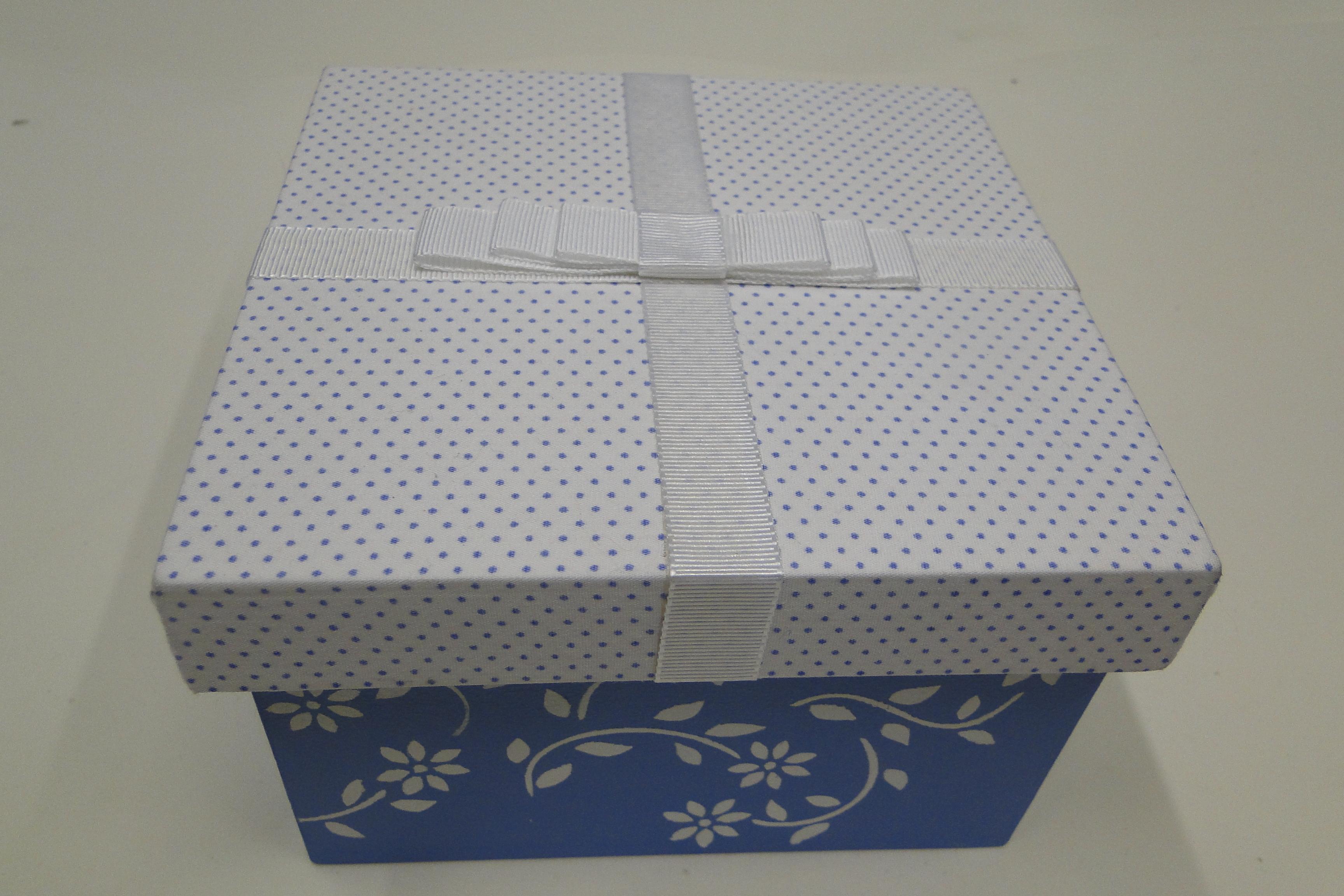 caixa mdf pintada Trabalhanatos da Vanessa Elo7 #353F59 3456x2304