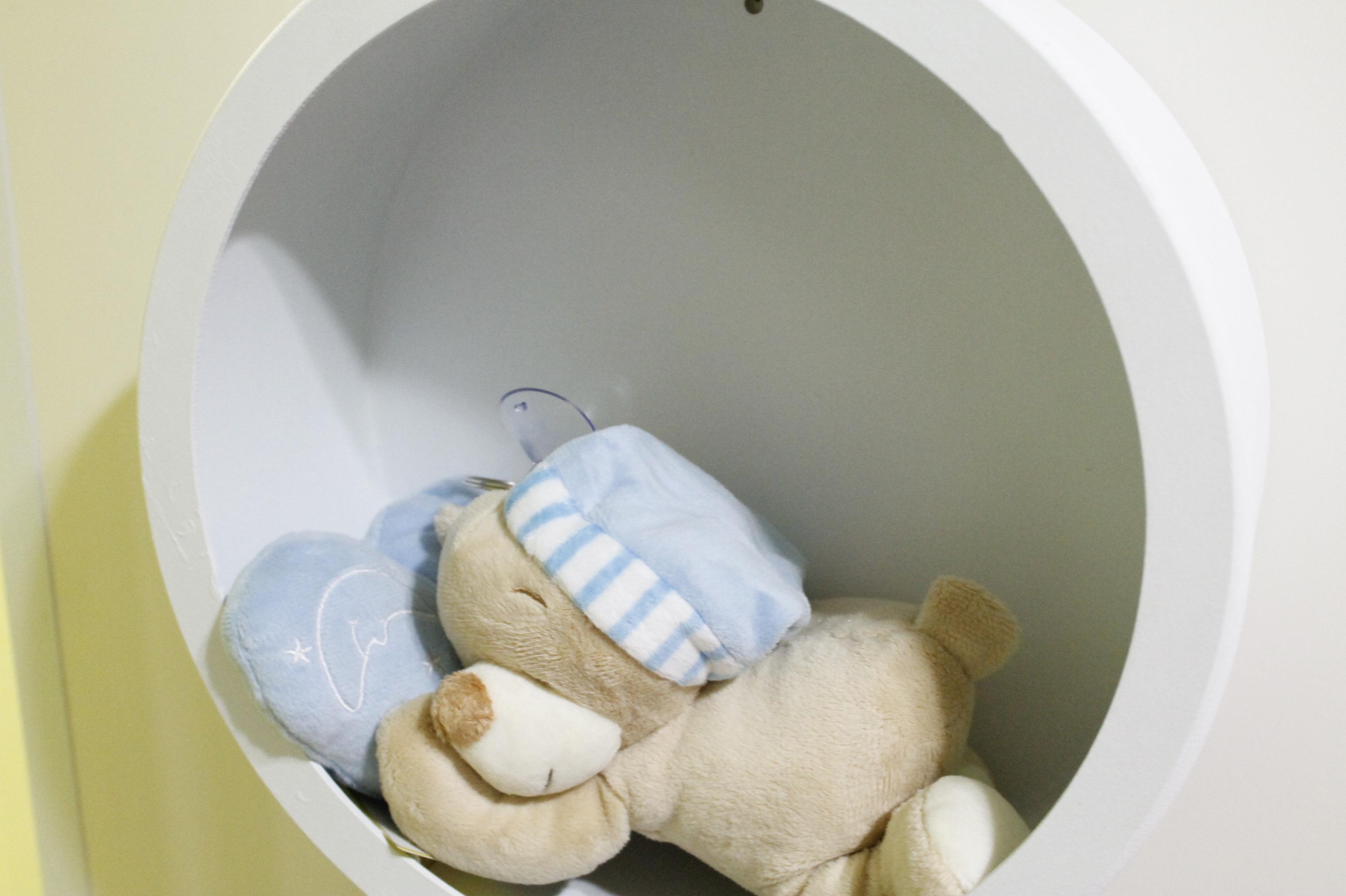 Nicho Redondo pra quarto de bebê Liliarte Elo7 ~ Tipos De Nichos Para Quarto De Bebe