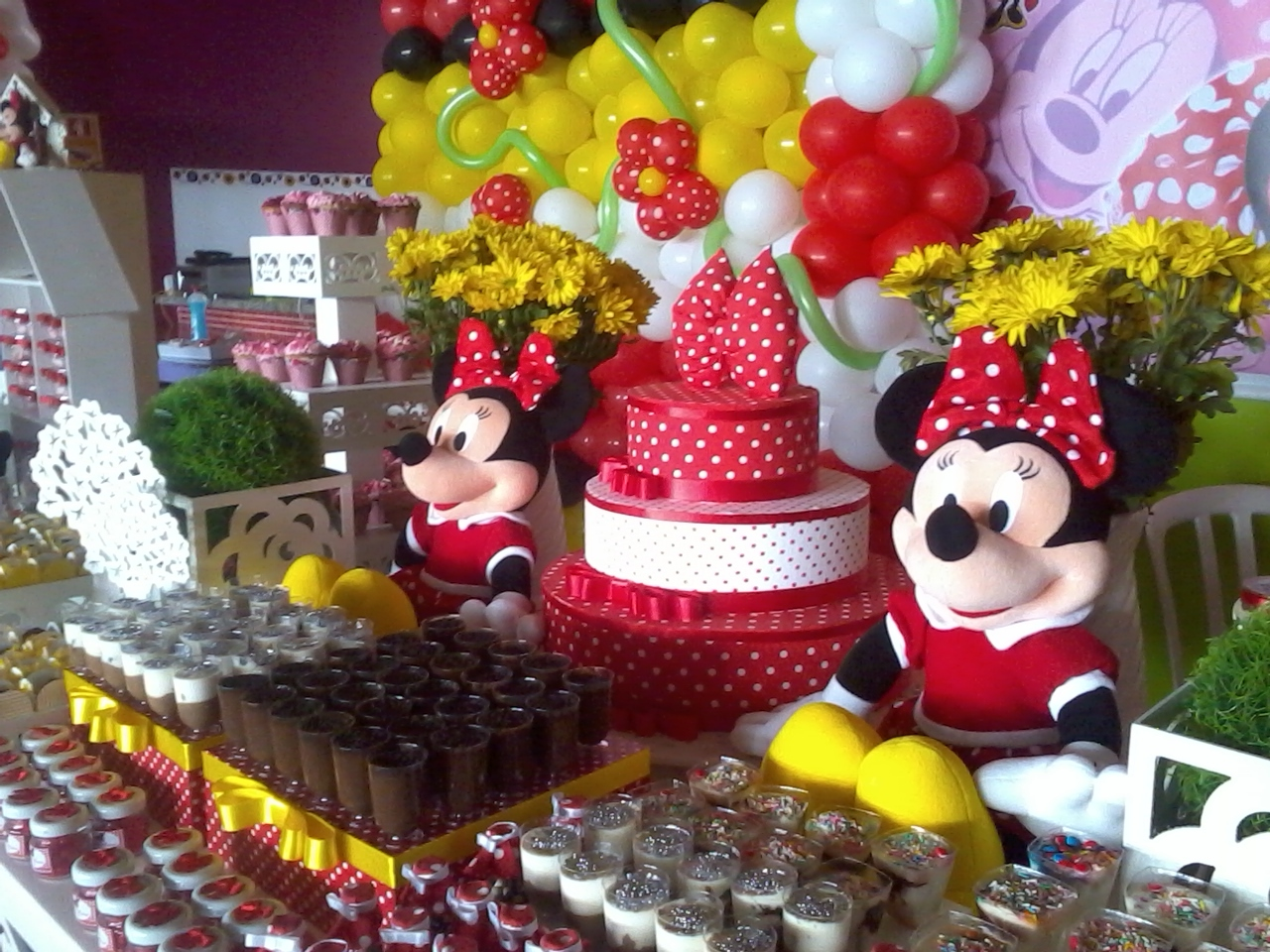 Provencal Minnie Vermelha Festas E Eventos Decoracao Pictures to pin