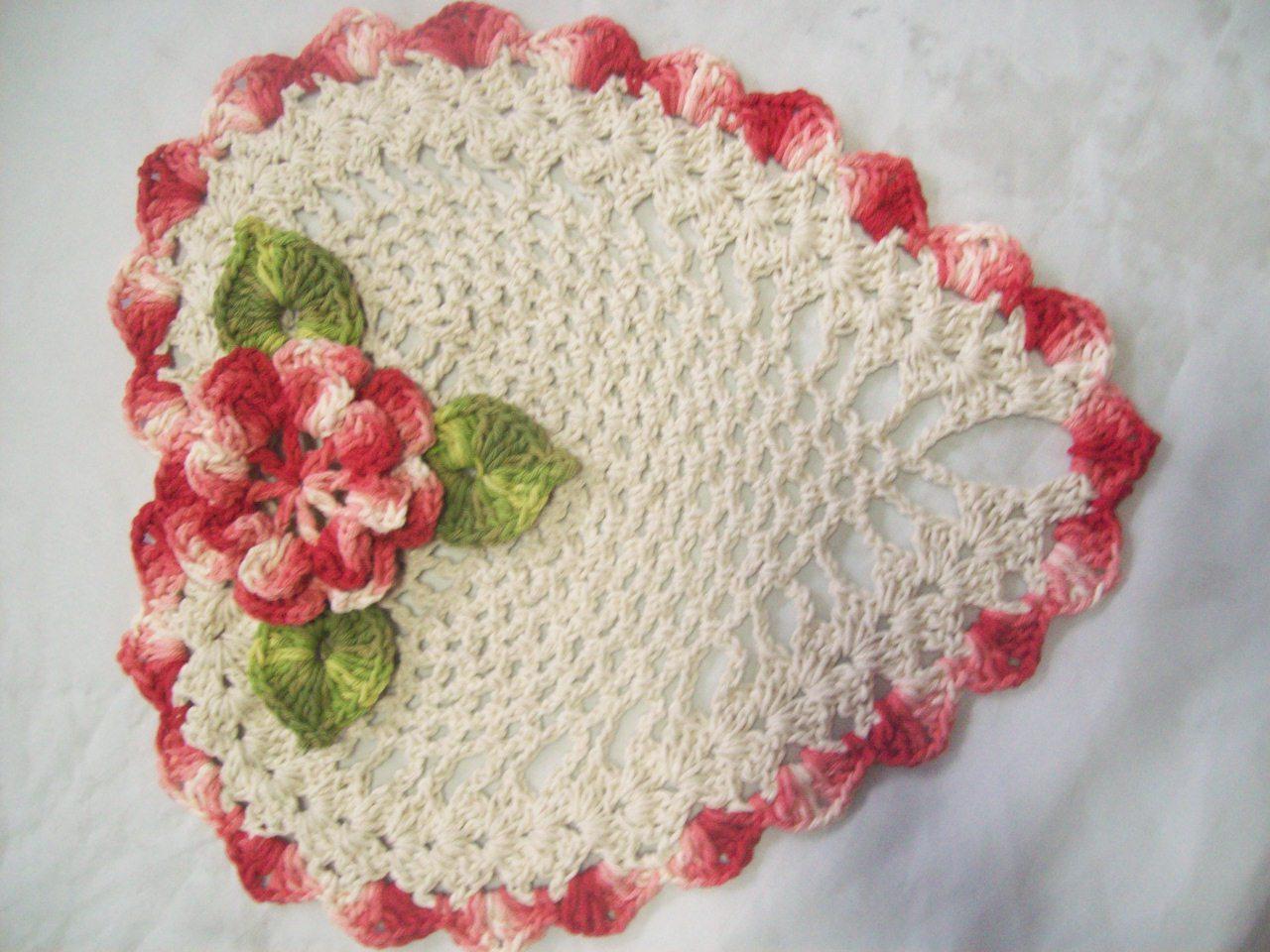 Coracao De Croche Grafico