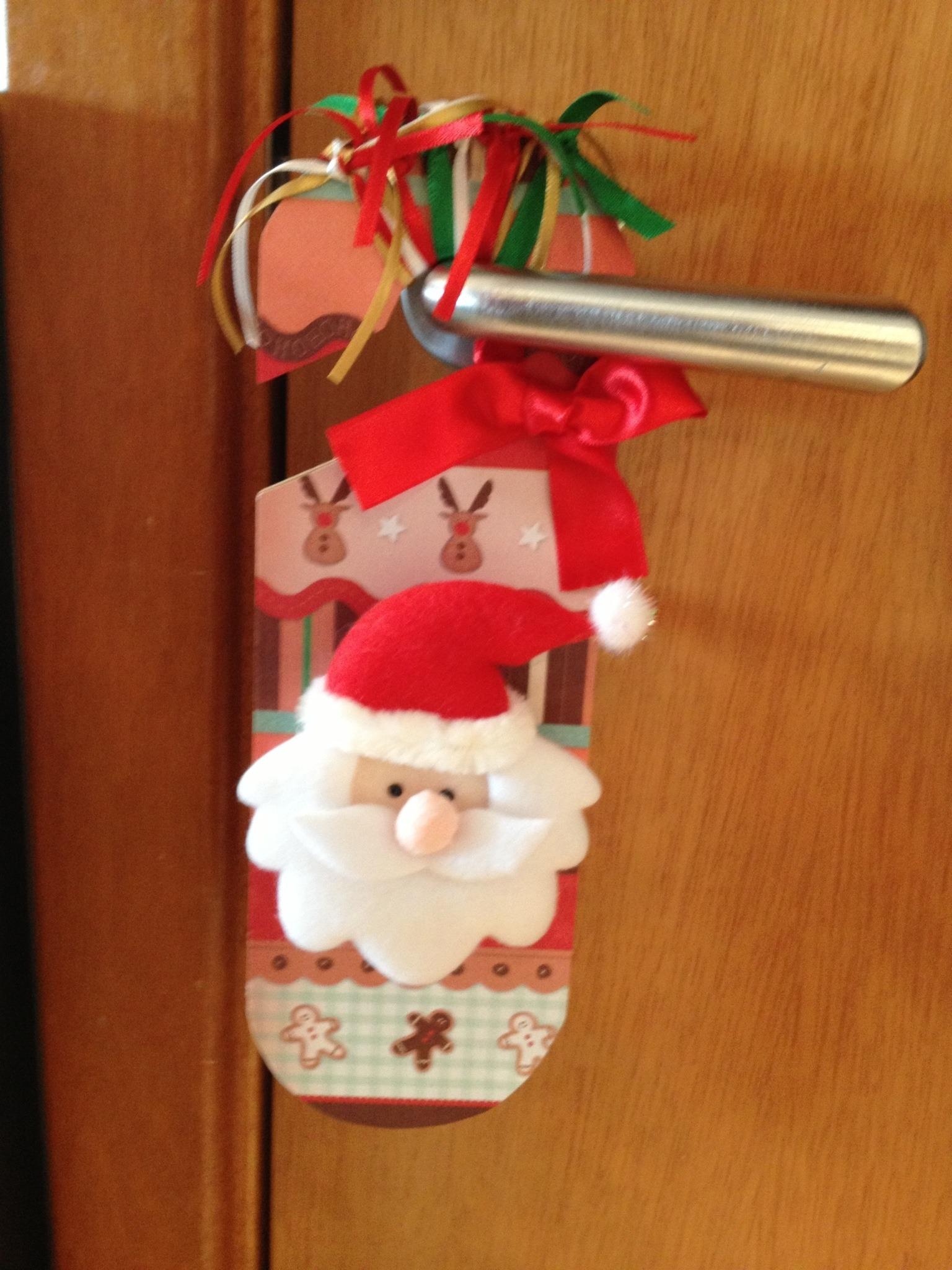 Enfeite De Natal ~ Pura Perfeiç u00e3o Detalhes para sua Festa! Enfeites para Porta!