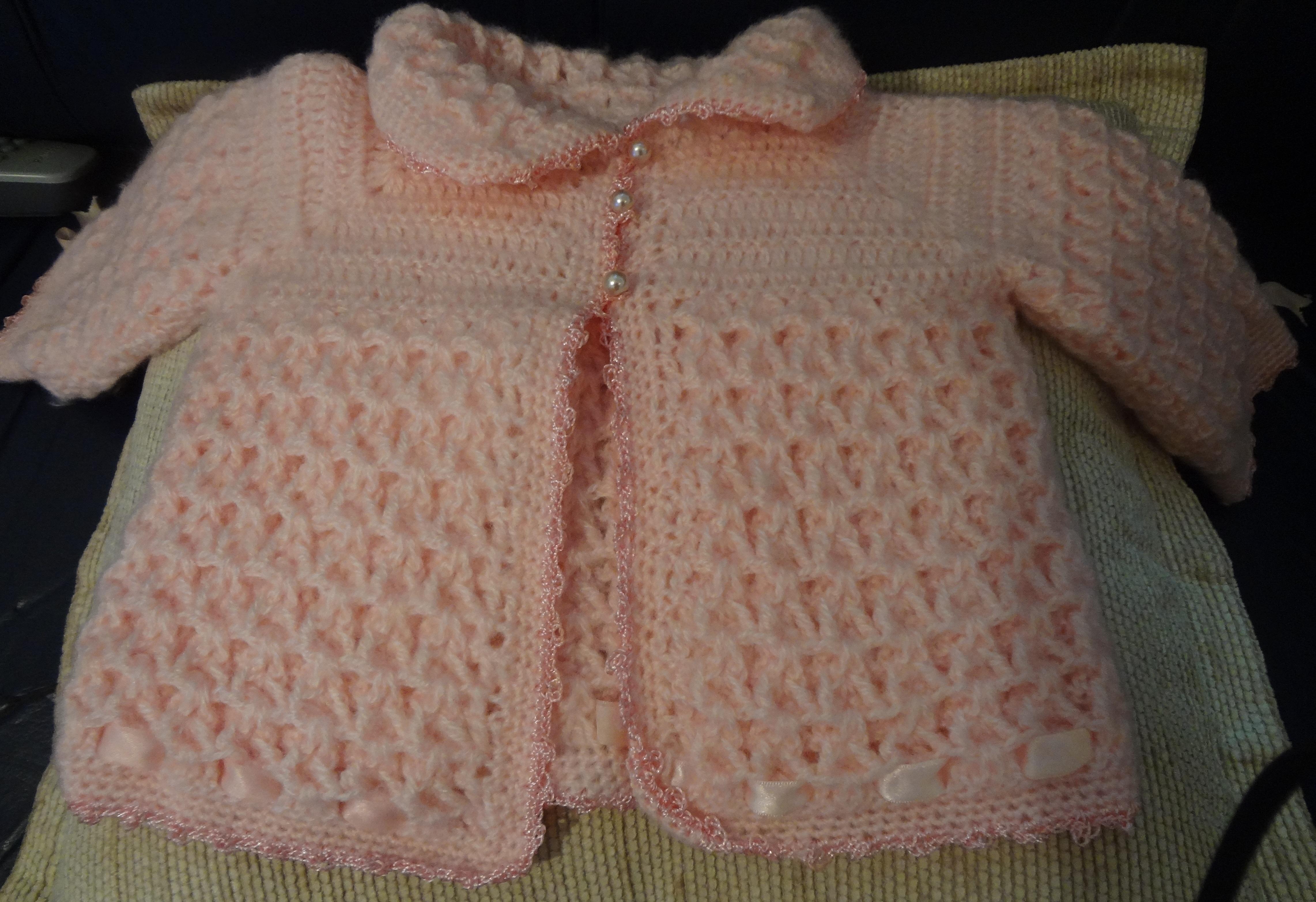 Grafico Casaquinho De Croche Para Bebe