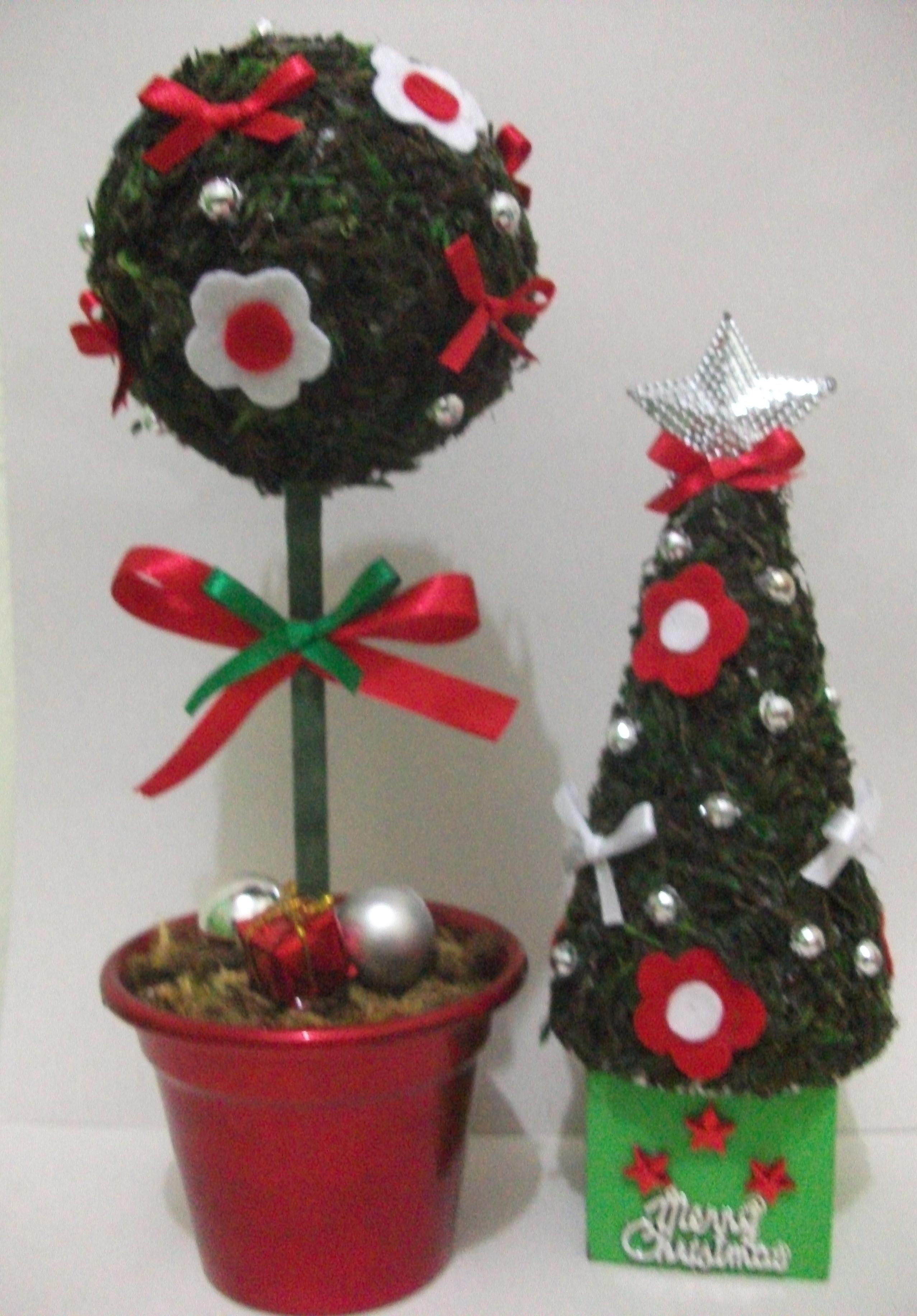 decoracao de arvore de natal tradicional:topiaria arvore de natal topiaria arvore de natal