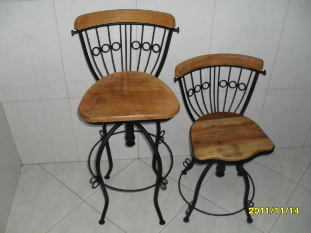 banquetas bistro madeira e ferro banquetas bistro madeira e ferro #724825 1024x768
