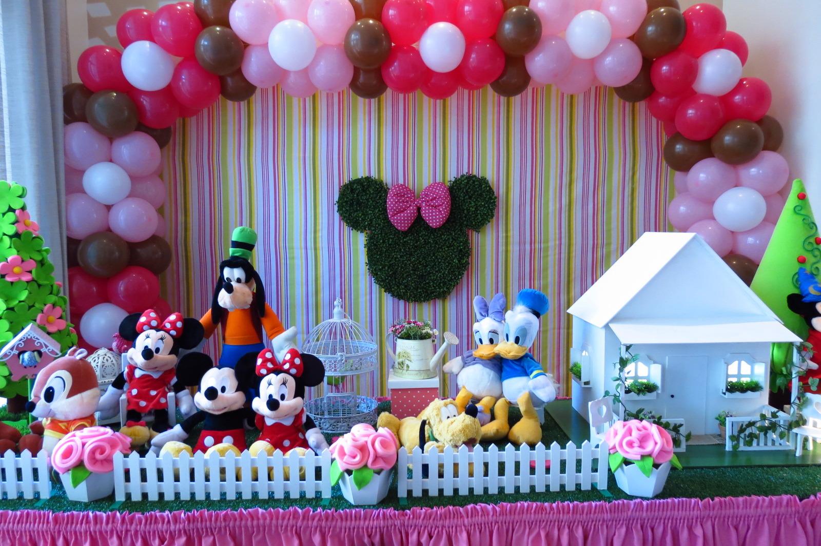decoracao festa minnie rosa : decoracao festa minnie rosa:da Minnie – Rosa Decoração da Minnie – Rosa Decoração da Minnie