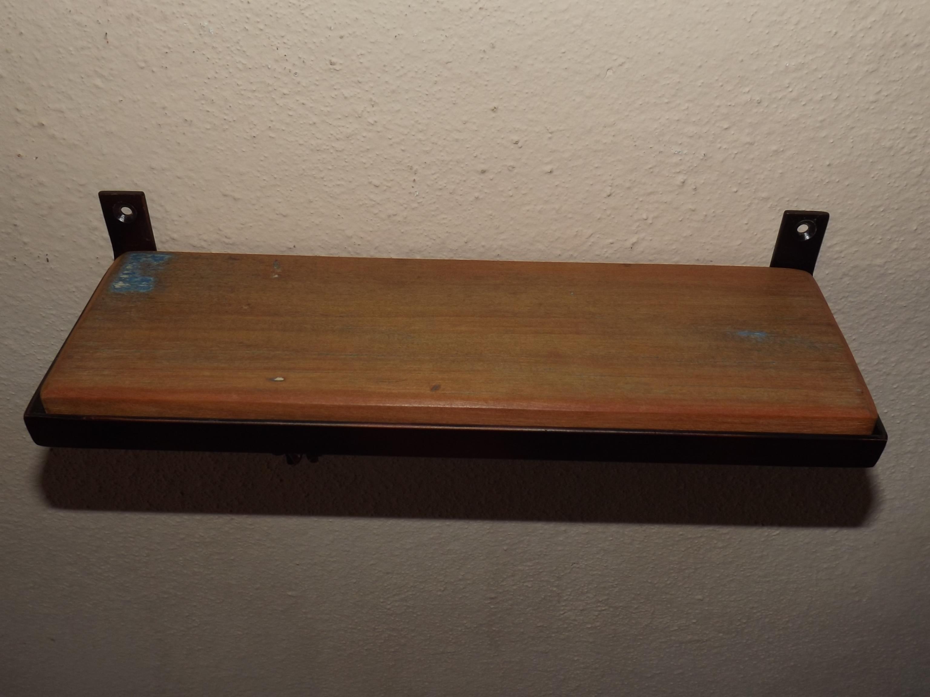 prateleira madeira de demolicao e ferro prateleira madeira de  #654832 3072x2304