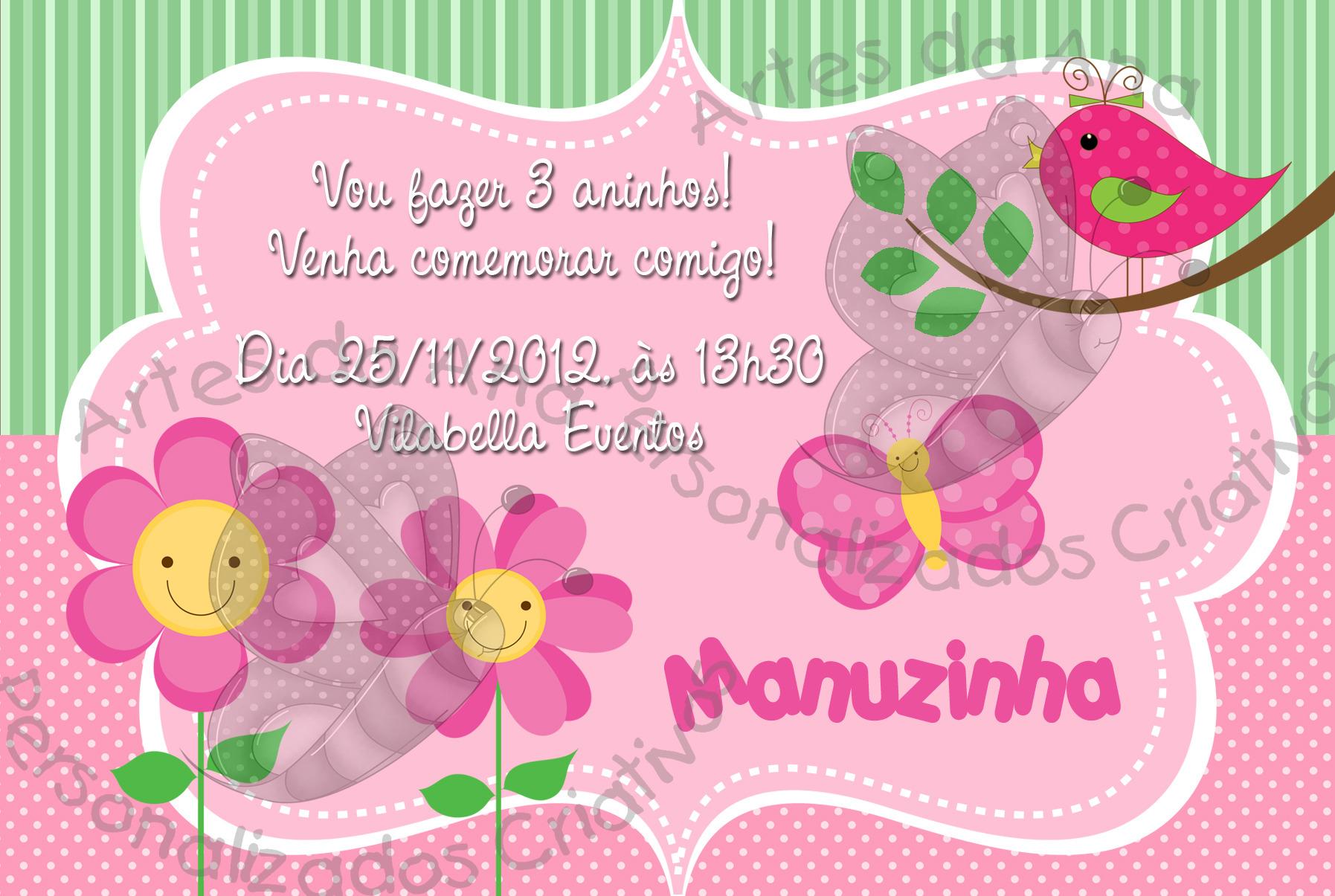 imagens de jardim encantado para convites:50 convite jardim rosa 12x7cm r $ 2 80 convite jardim verde e rosa