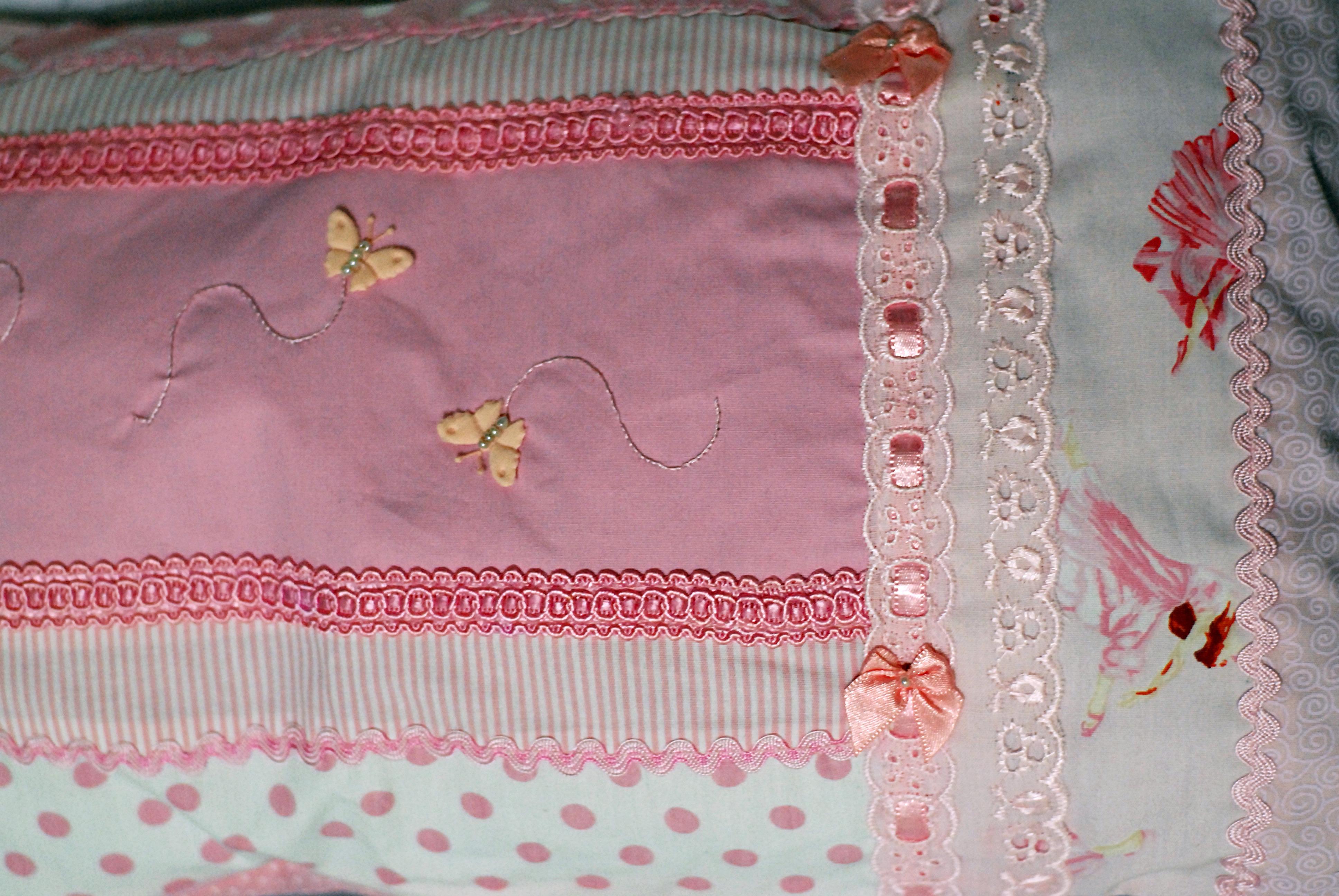 Capa de almofada recortes estilo patch miss sunshine elo7 - Estilo patchwork ...
