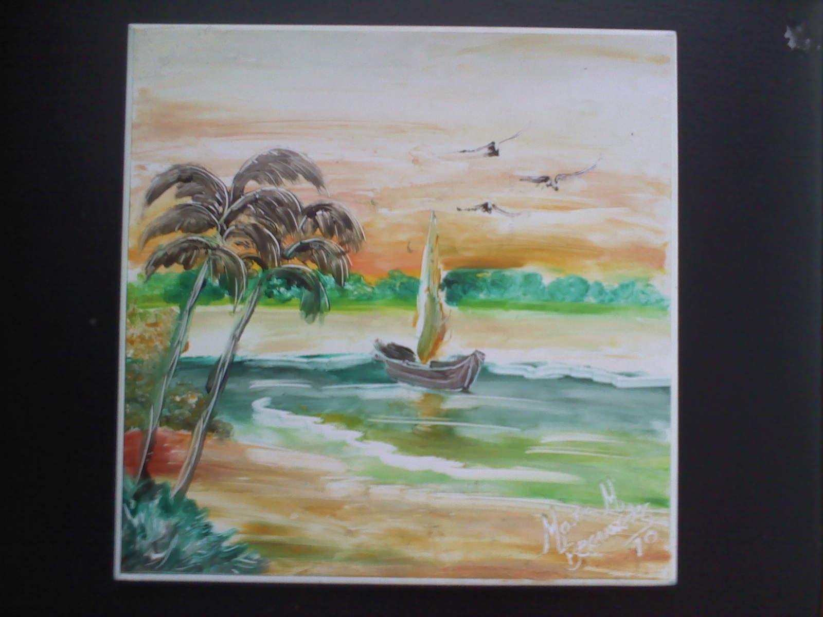 Pintura dedo em azulejo mara maria gomes bernardes - Pintura de azulejos ...