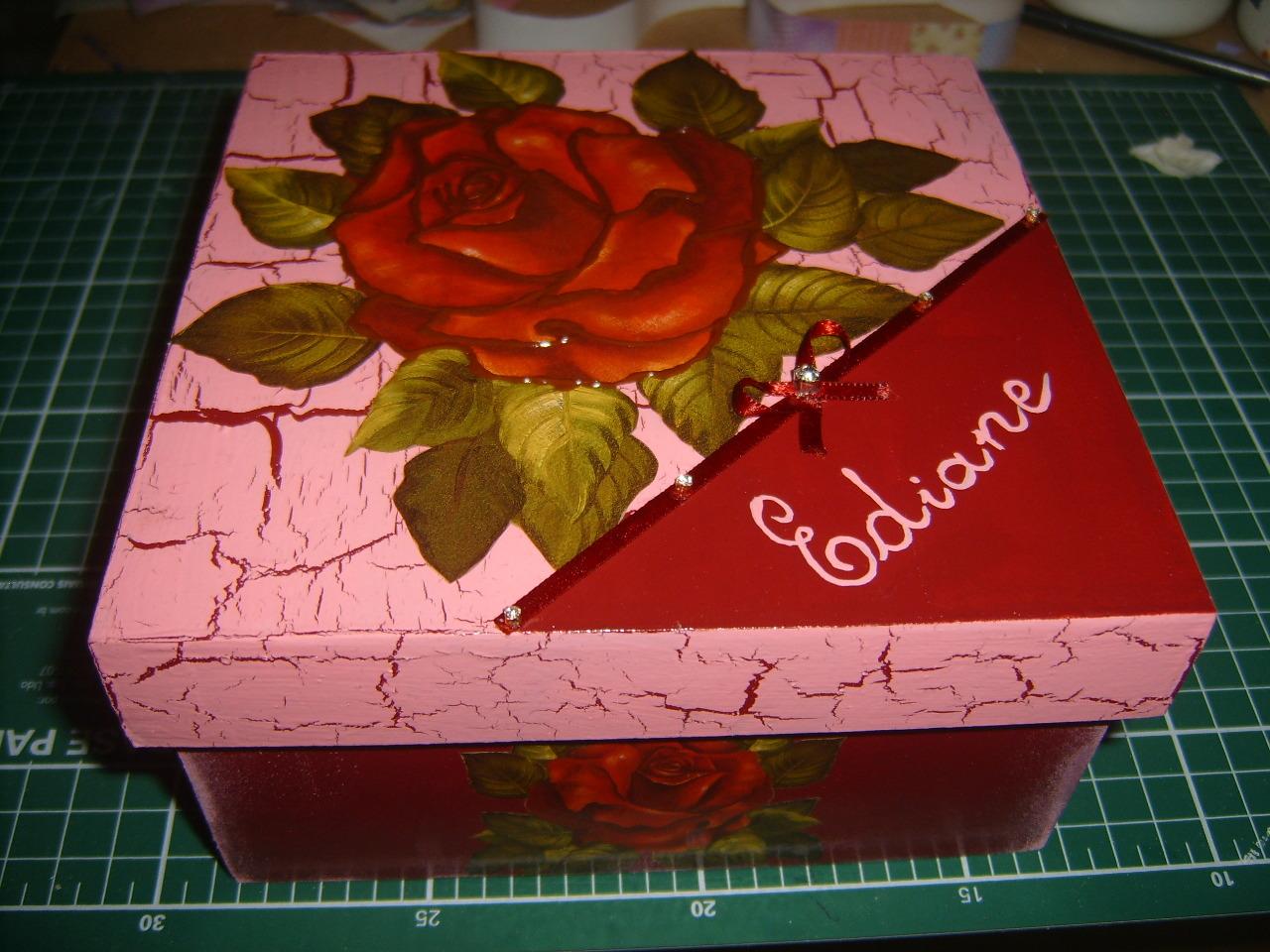 caixa mdf pintura craquele caixa mdf pintura craquele #BF0C18 1280x960