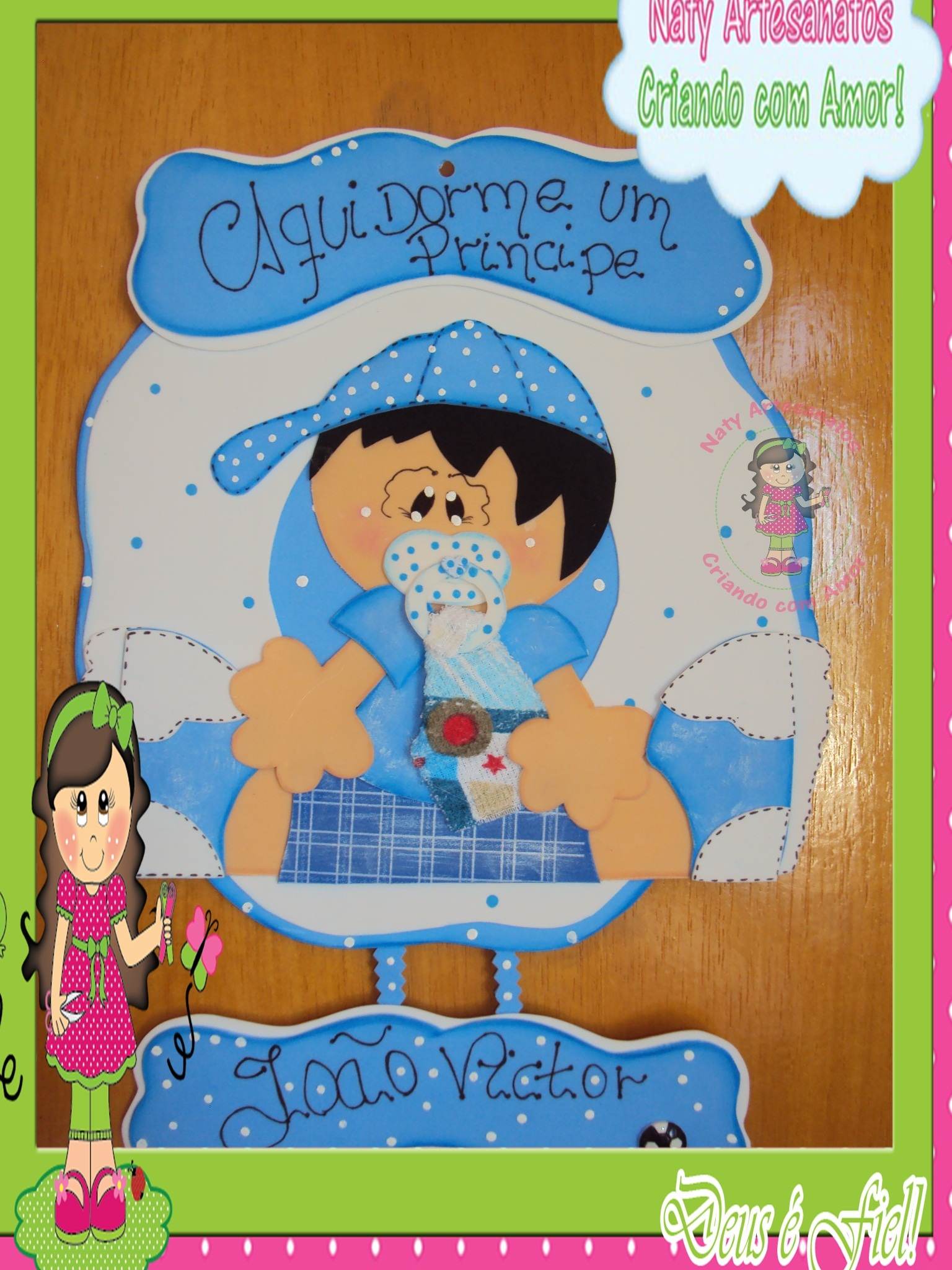 Enfeites Para Quarto De Bebe De Eva ~ enfeite de porta para bebe enfeite de porta para bebe