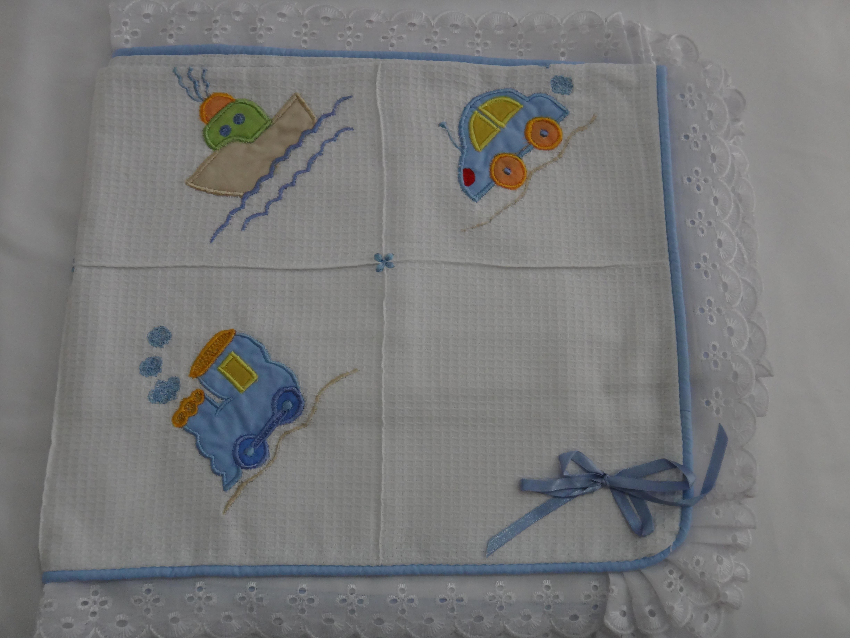Pin Mantas Bordadas Para Beb Casa Bonita Atelie Abb Elo on Pinterest