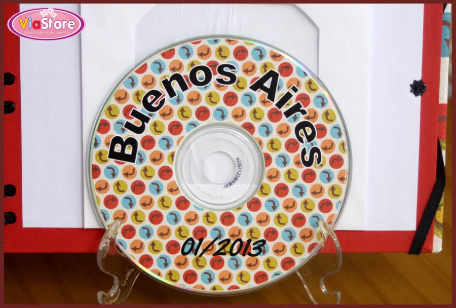 Álbum de Fotos Viagem - Scrapbook Álbum de Fotos Viagem - Scrapbook
