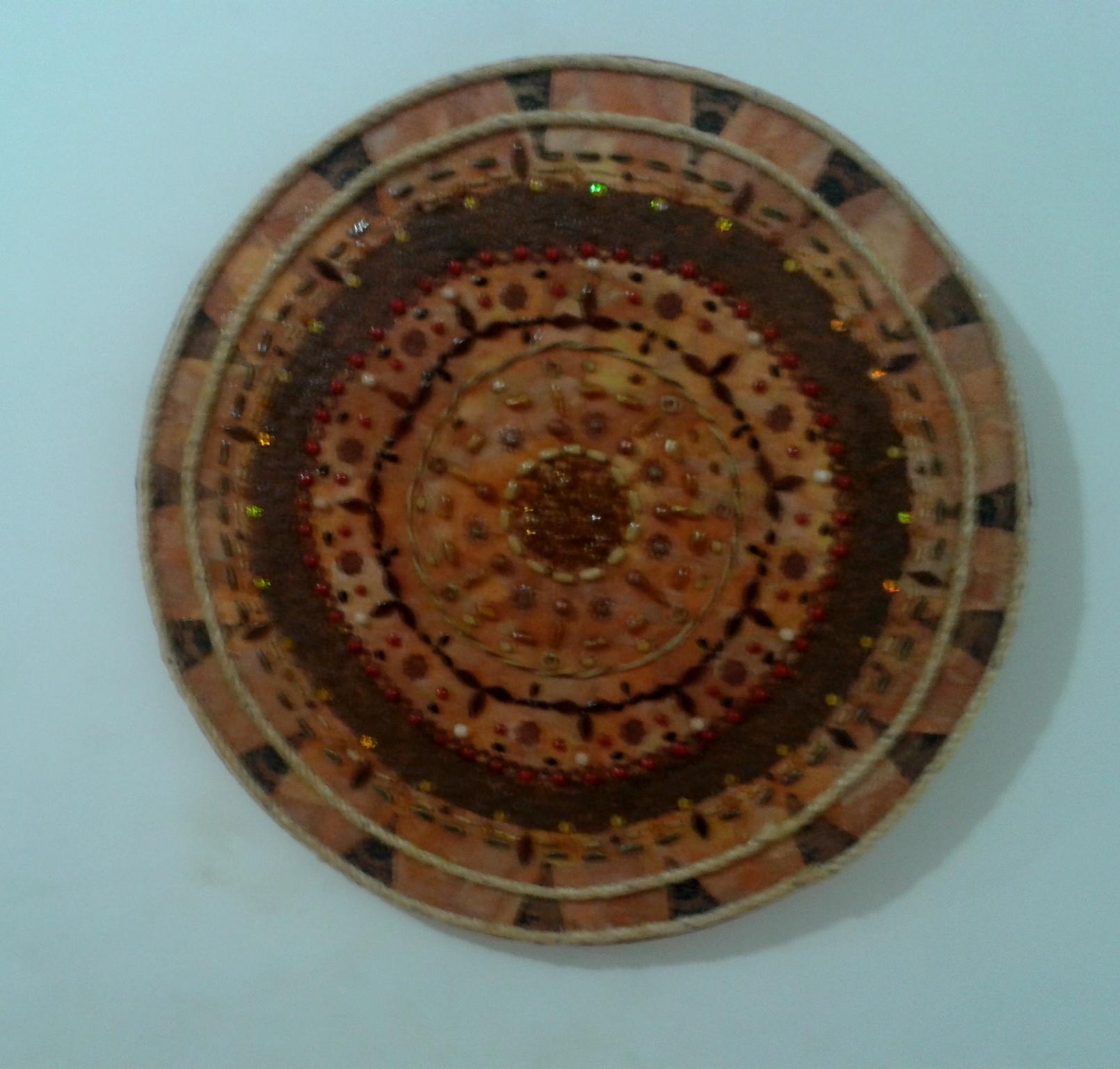 Mandala Rústica Assunção Arte e Decoração Elo7 #01CA41 1610x1536