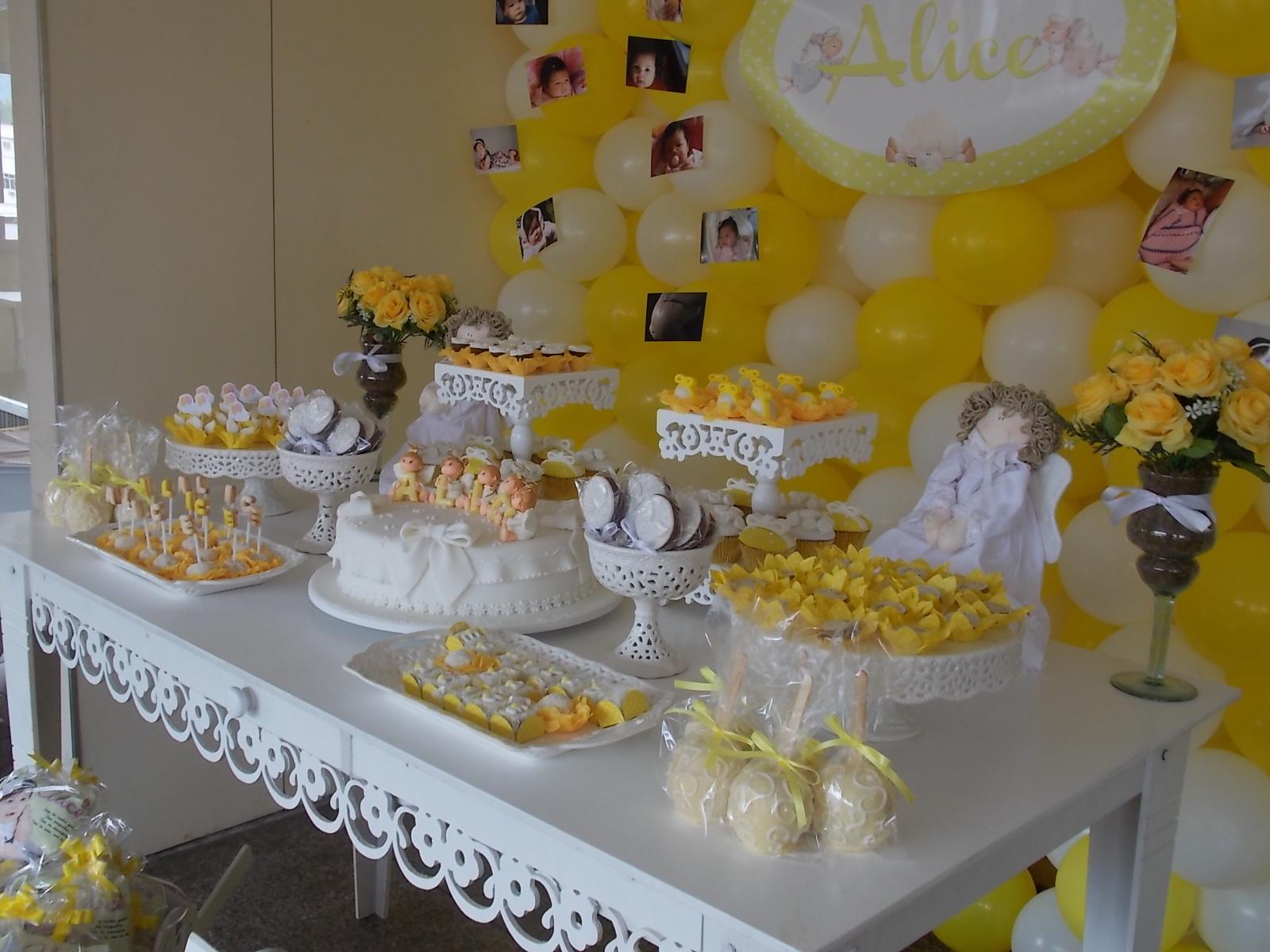 decoracao branco amarelo : decoracao branco amarelo:Decoracao De Festa Amarelo E Branco