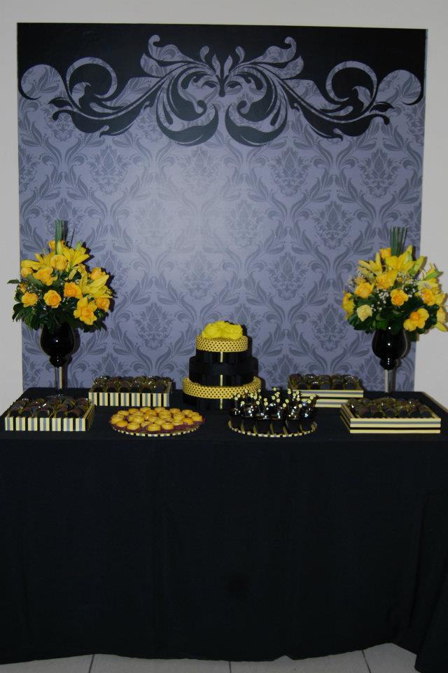 decoracao amarelo branco e preto: amarelo 0 anos decoracao preto e amarelo 0 anos decoracao preto e