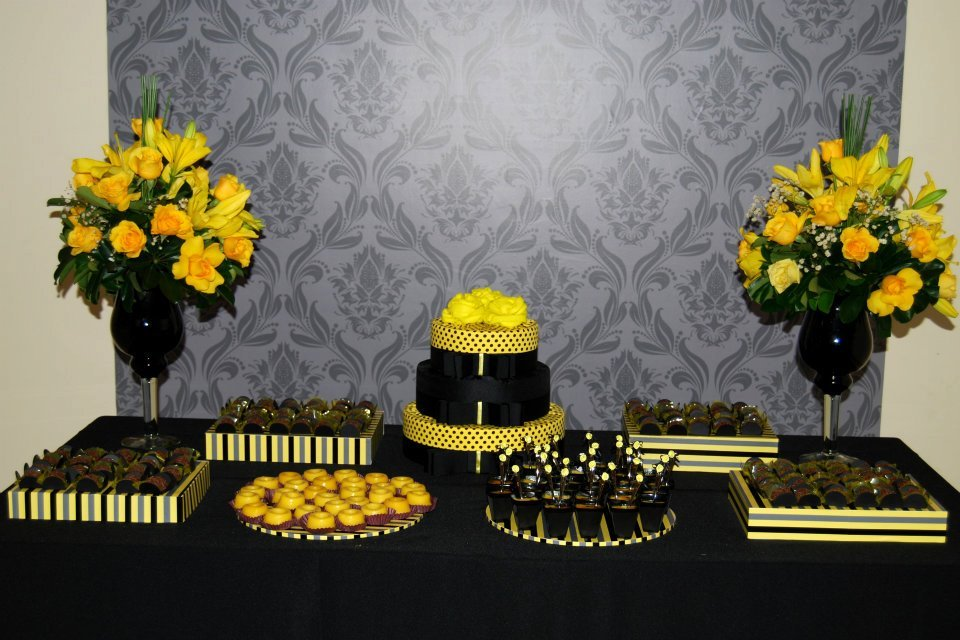 decoracao amarelo branco e preto:Decoracao Amarelo E Preto