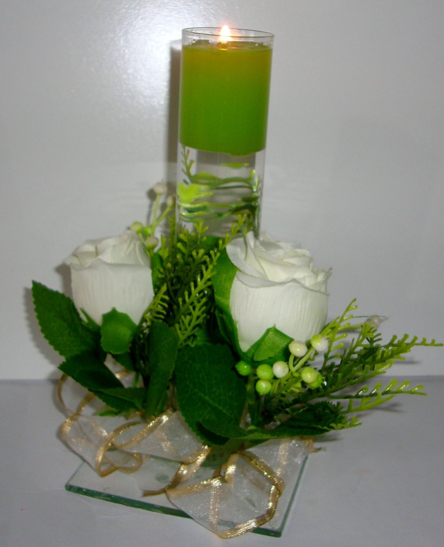 Velas para centro de mesa luz e aroma sabonetes finos e - Velas centro de mesa ...