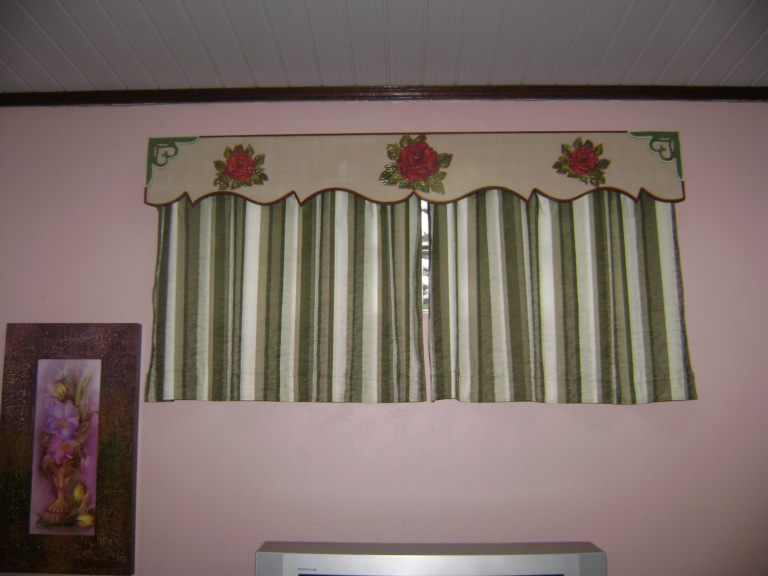 Modelos de cenefas para cortinas de sala y comedor for Modelos de cortinas