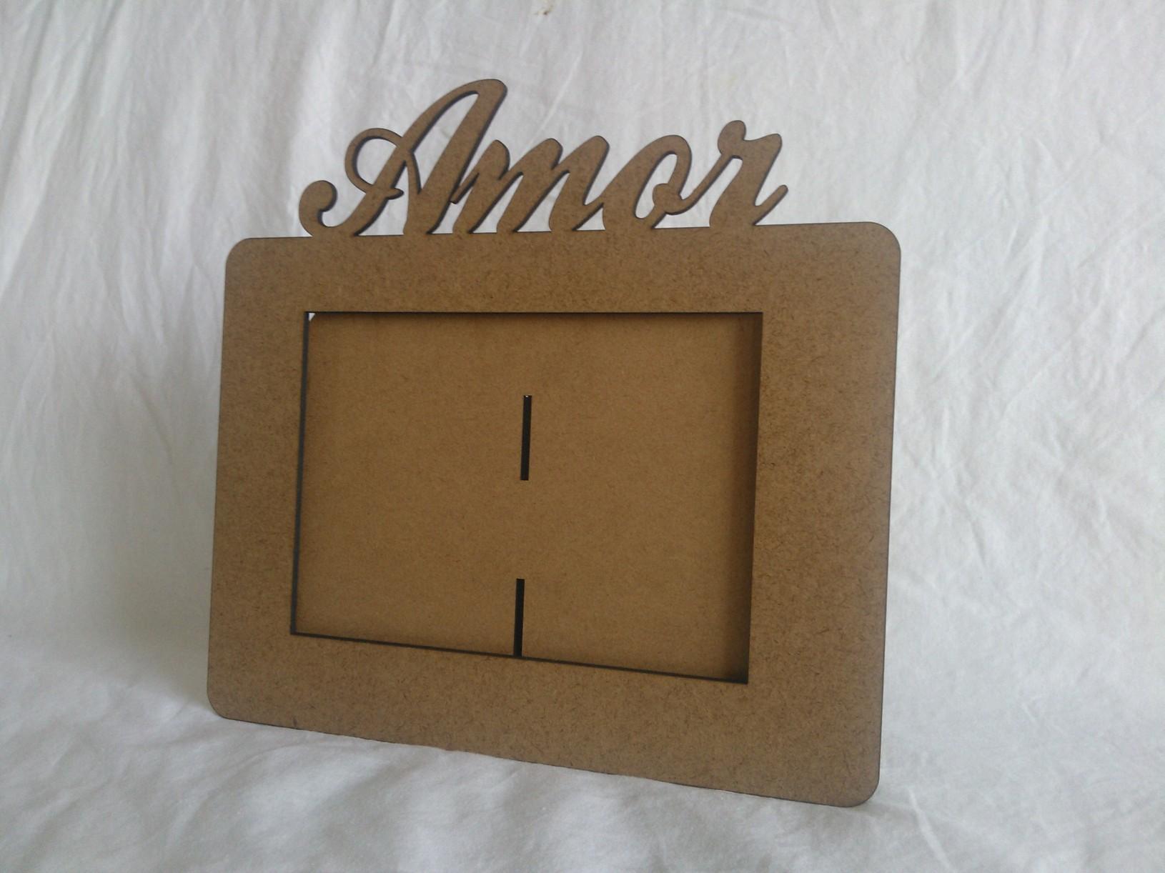 Porta retrato em mdf cru Innovare Laser Elo7 #694F30 1630x1222