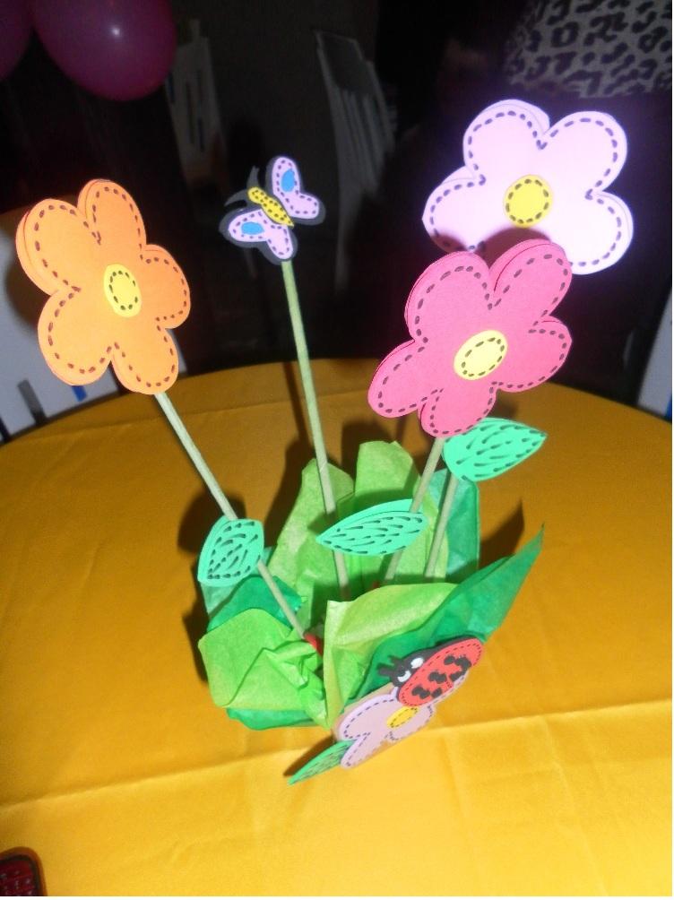 Enfeite De Jardin ~ Enfeite de mesa Jardim Encantado Nanda Lembracinhas (Sonhos de Festa) Elo7