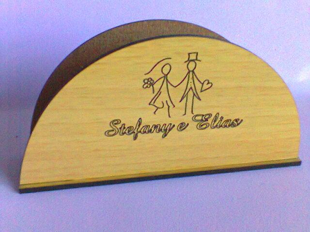 Porta Guardanapo Casamento