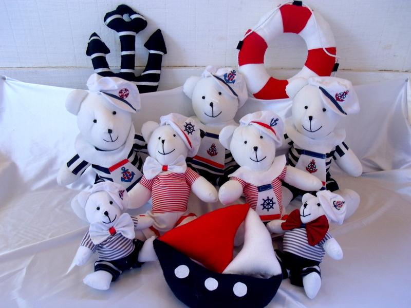 decoracao kit festa infantil:Kit 10 peças -Decoração Festa Marinheiro