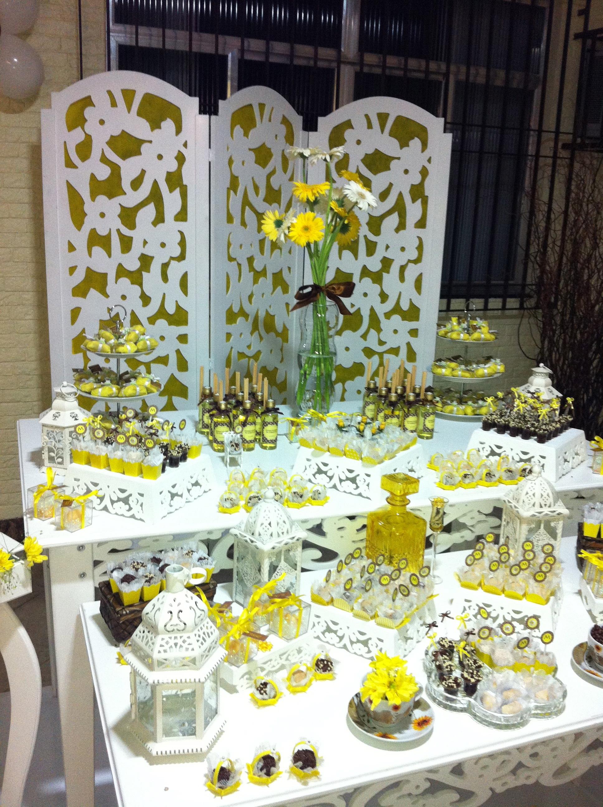 decoracao branco amarelo : decoracao branco amarelo:Provençal Amarelo e branco Decoração Provençal Amarelo e branco
