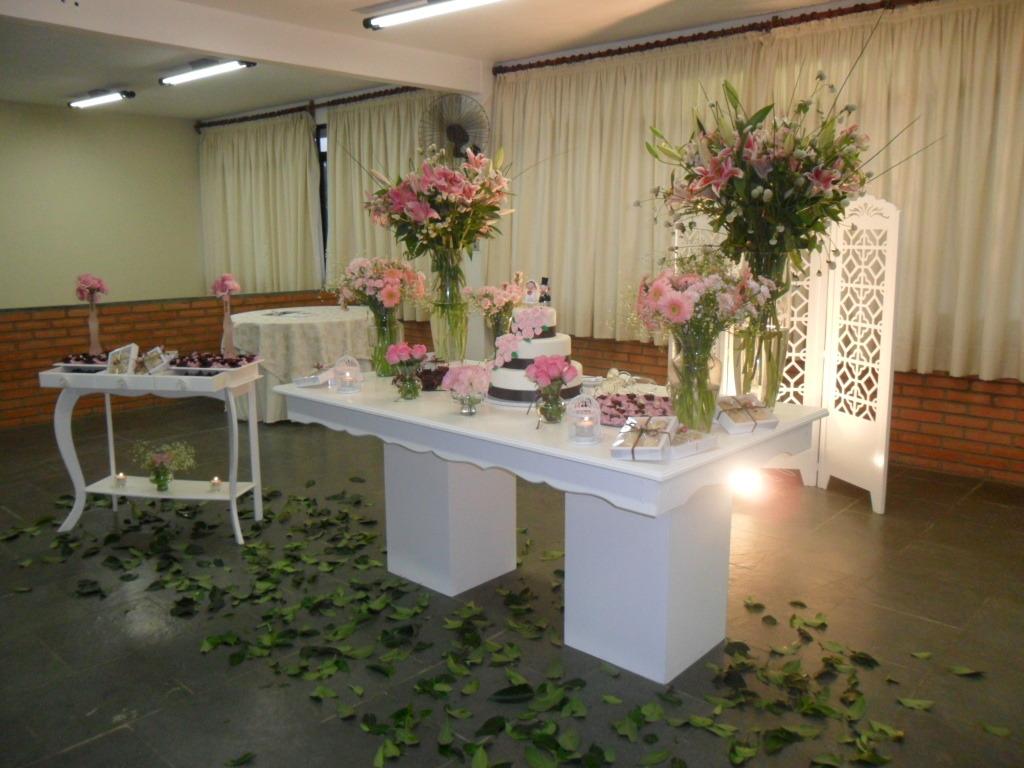 Decoração Mesa de bolo casamento Decoração Mesa de bolo casamento