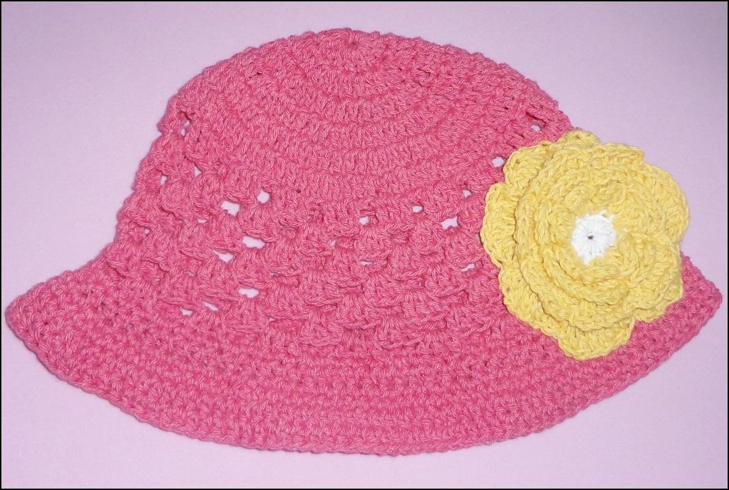 Chapéu de crochê infantil Giulia | Ateliê Fulana Fulô | Elo7
