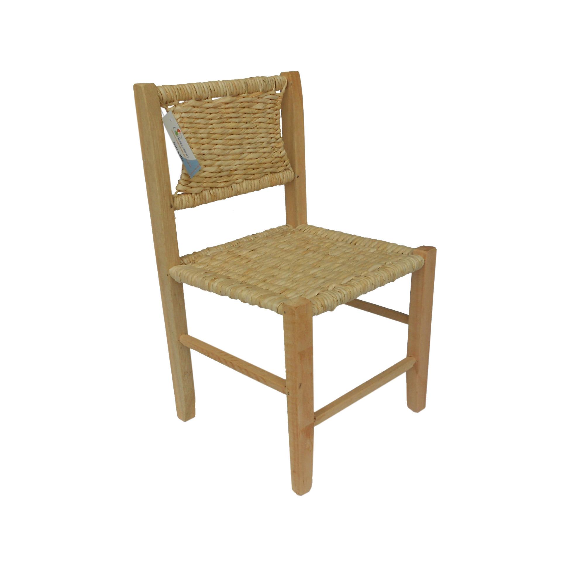 Cadeira Infantil Palha Milho Nt 30x30x54 Cadeira Infantil Palha Milho  #70502C 1932x1944