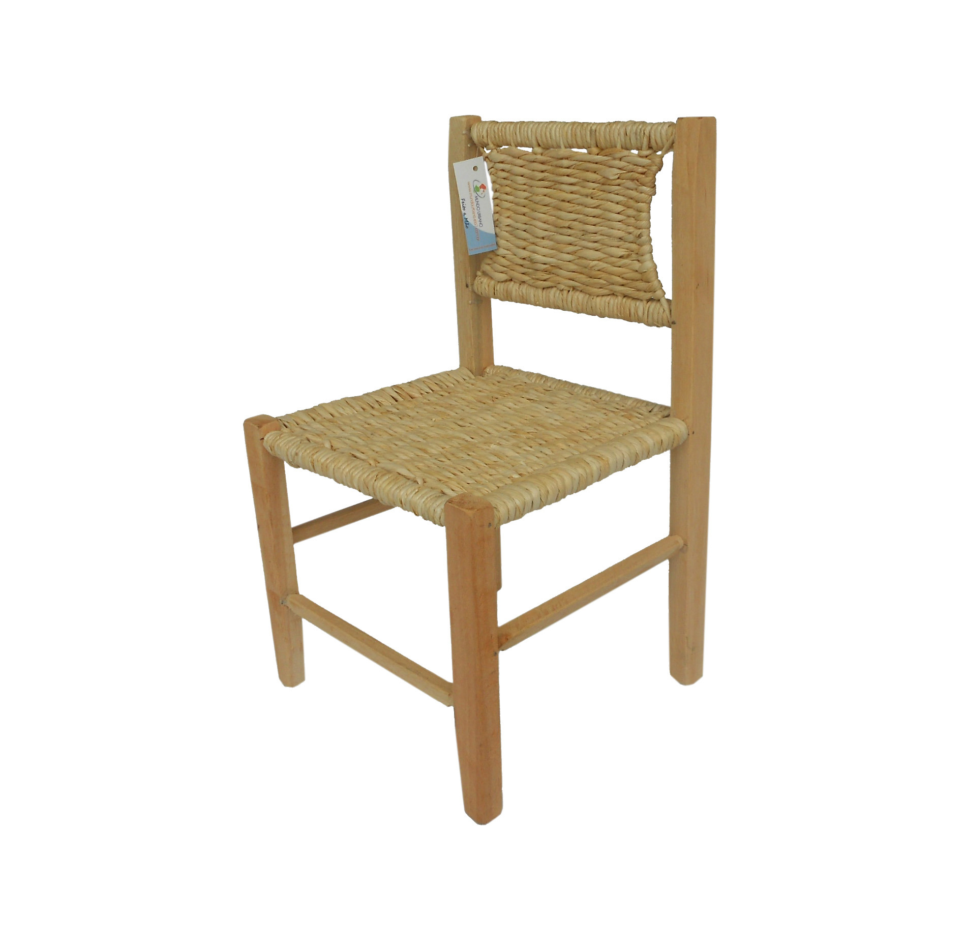 Cadeira Infantil Palha Milho Nt 30x30x54 Cadeira Infantil Palha Milho  #70502B 1896x1872
