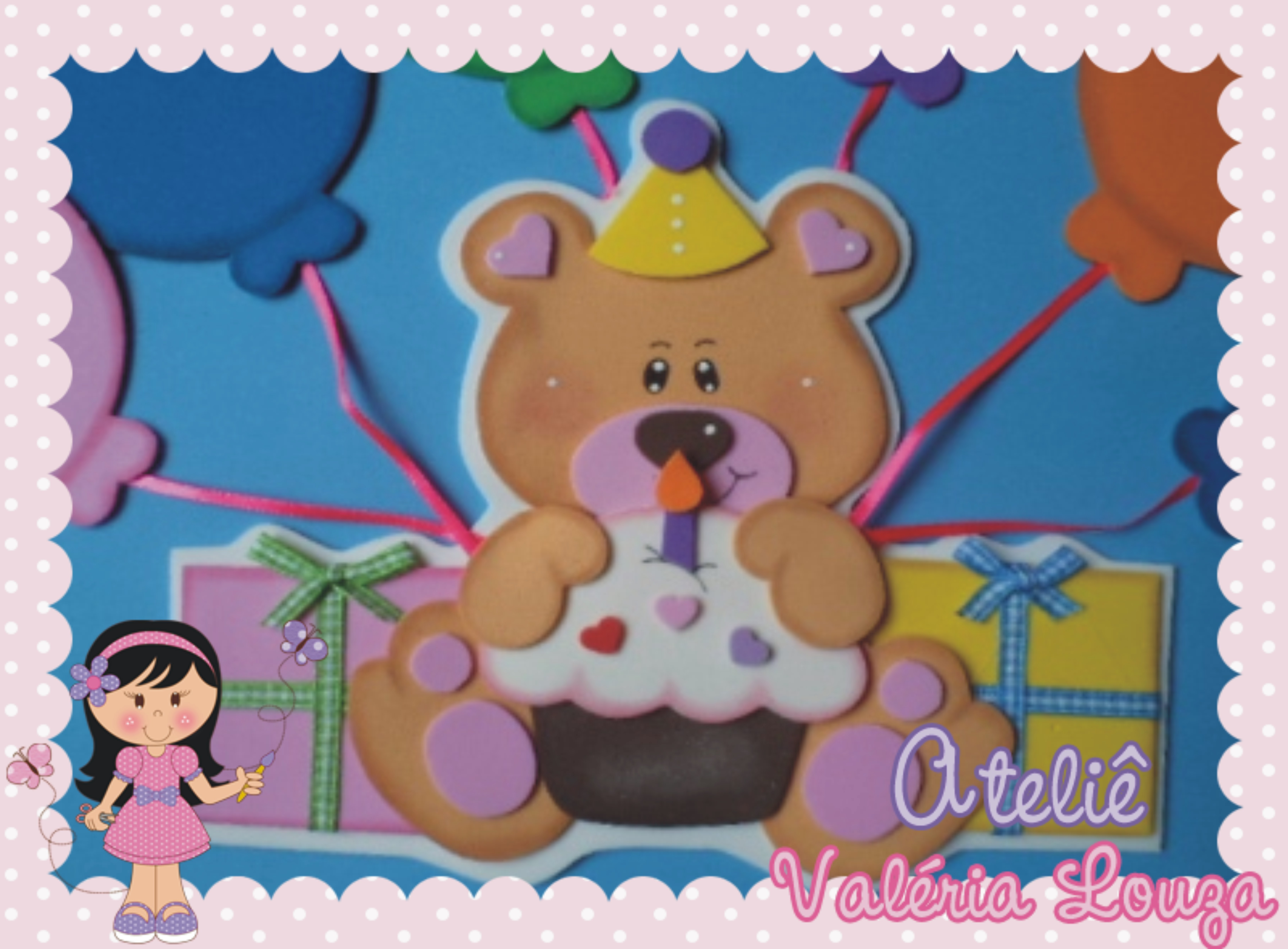Cartaz Aniversariantes Ursinhos Cartaz Aniversariantes Ursinhos