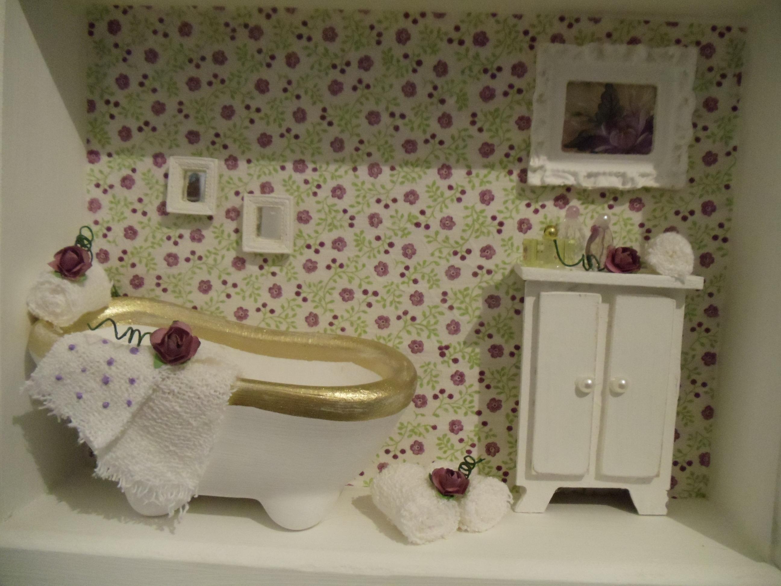 Quadro Decorativo Banheiro Florido Quadro Decorativo Banheiro Florido  #515731 2592 1944