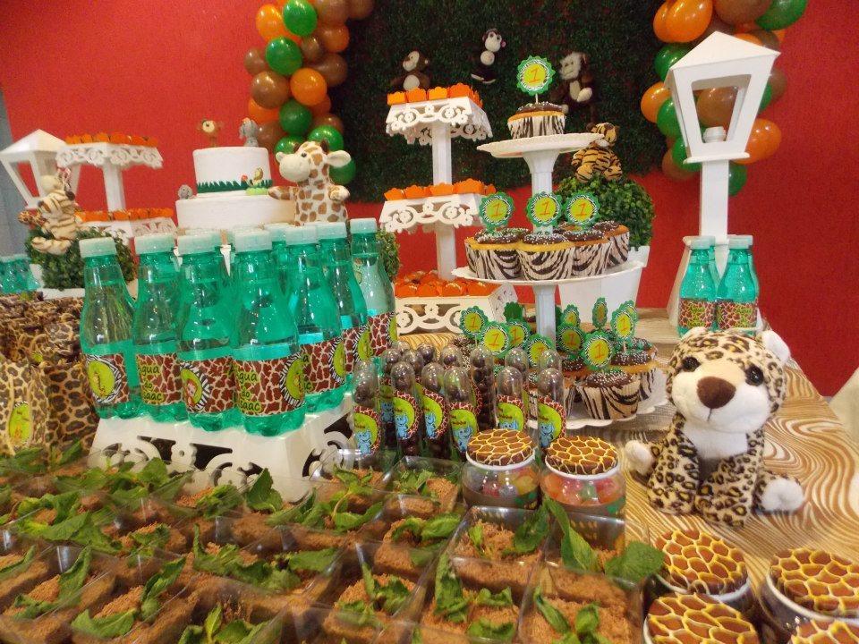 decoracao festa safari:Festa Safari Provencal