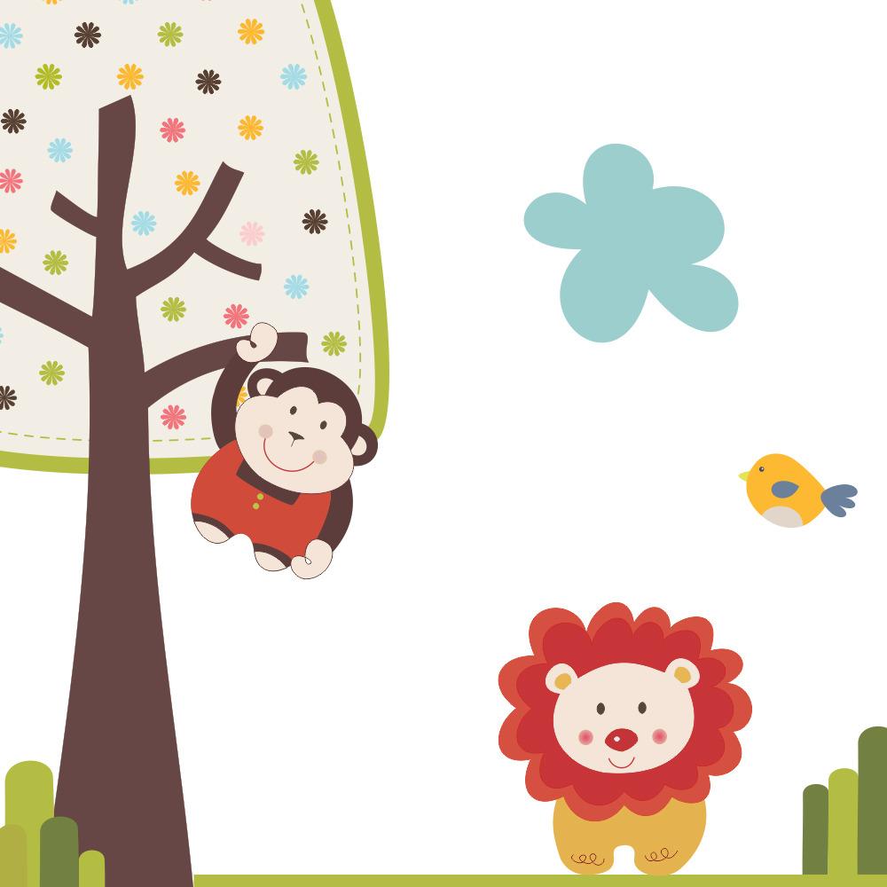 Adesivo Safari ~ Adesivos Infantil Safari, Recortado  Elo7