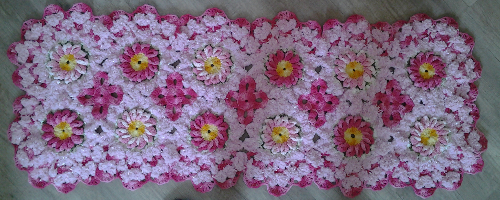 1000 images about ideas in crochet on pinterest for Tapetes de crochet