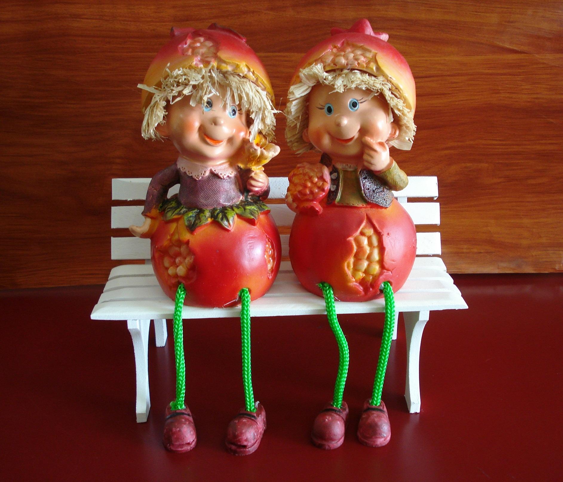 Enfeite De Frutas ~ Enfeite Fruta Rom u00e3 Perna Mole Mari Presentes Elo7