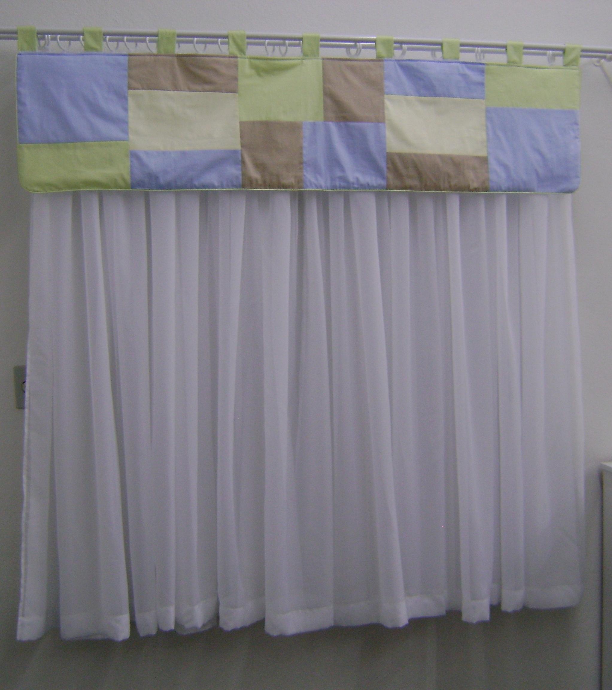 Passarinho enfeite cortina quarto beb elo7 - Cortinas para bebe ...