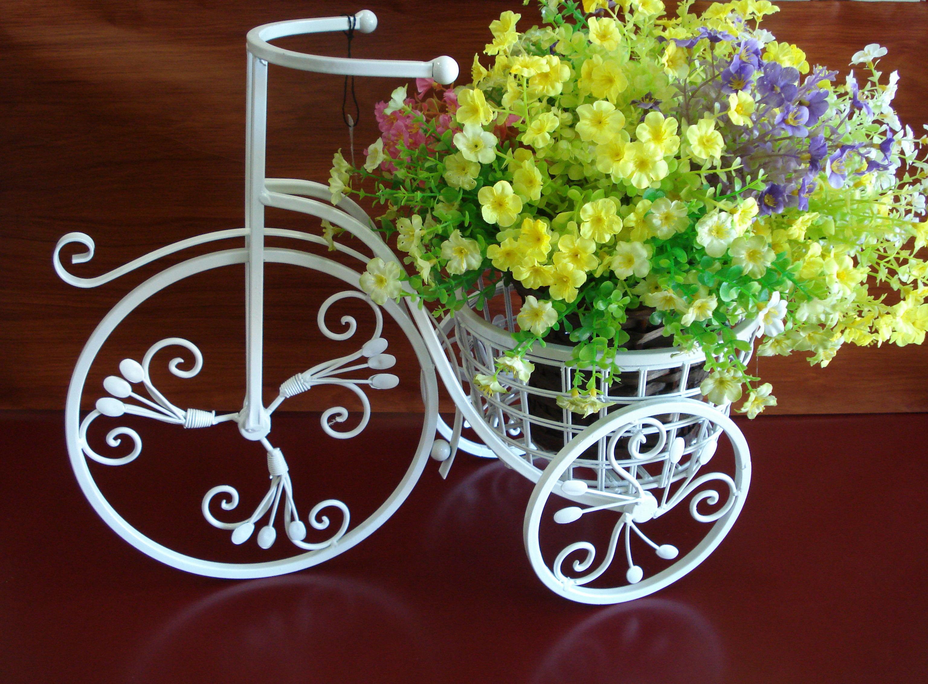 enfeite jardim bicicleta:Bicicleta Ferro Para Decoração Jardim 10 Bicicleta Ferro Para